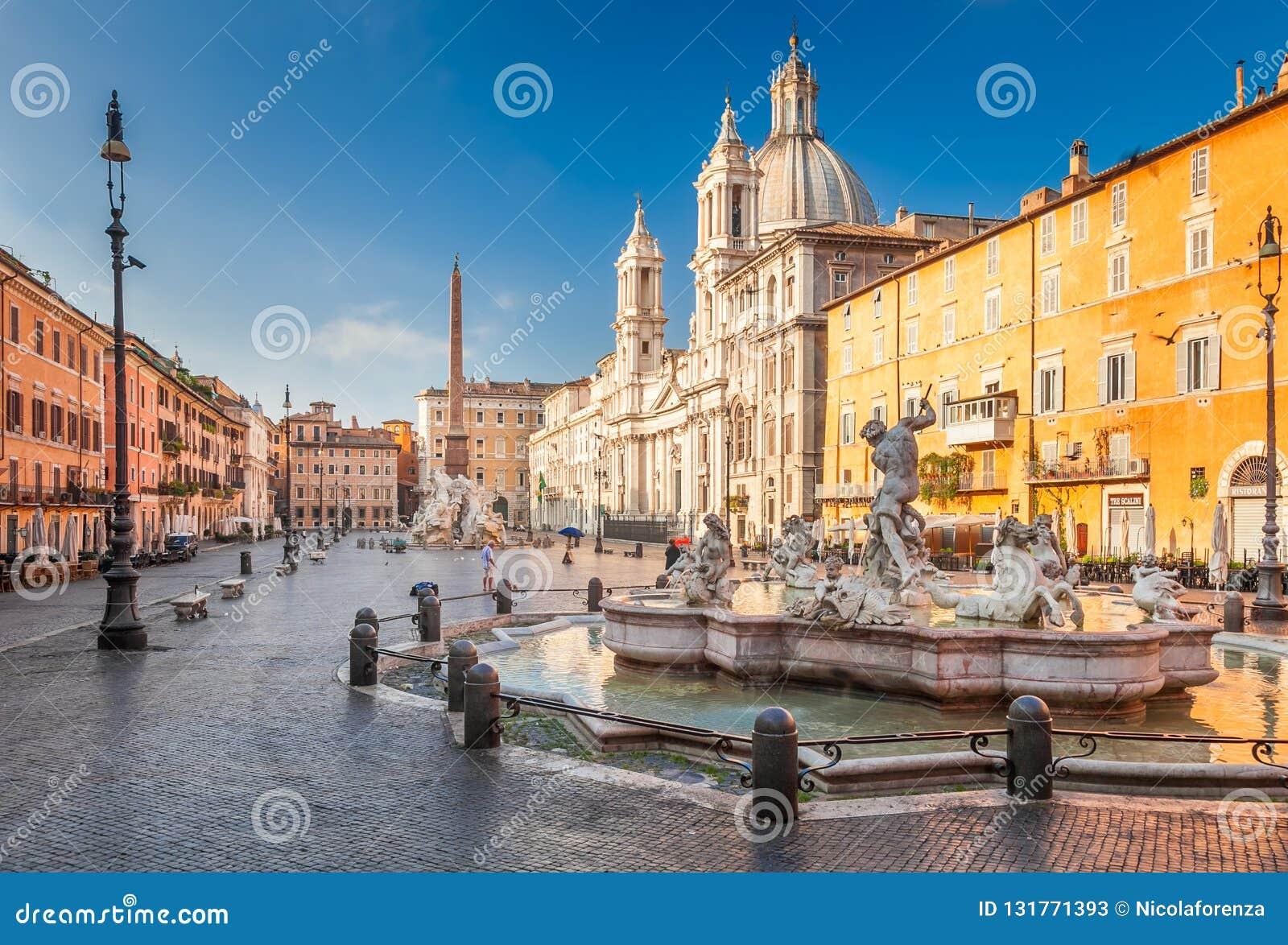 Quadrado de Navona, Roma, Itália