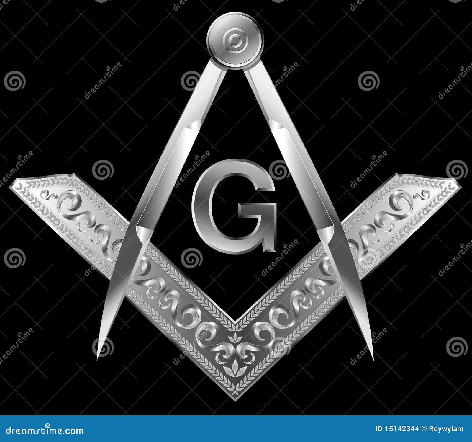 Quadrado e compasso maçónicos