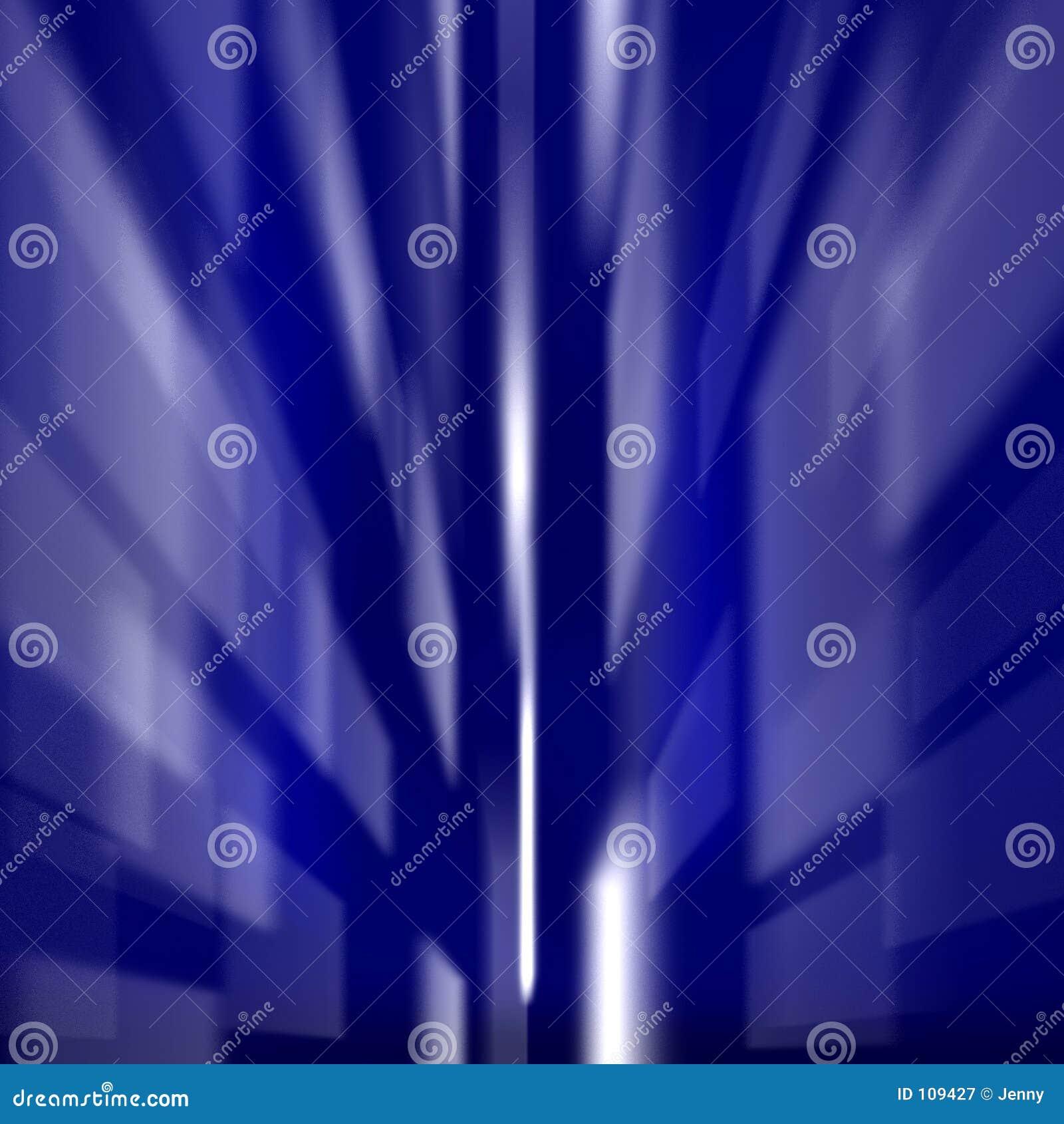 Quadrados azuis coloridos