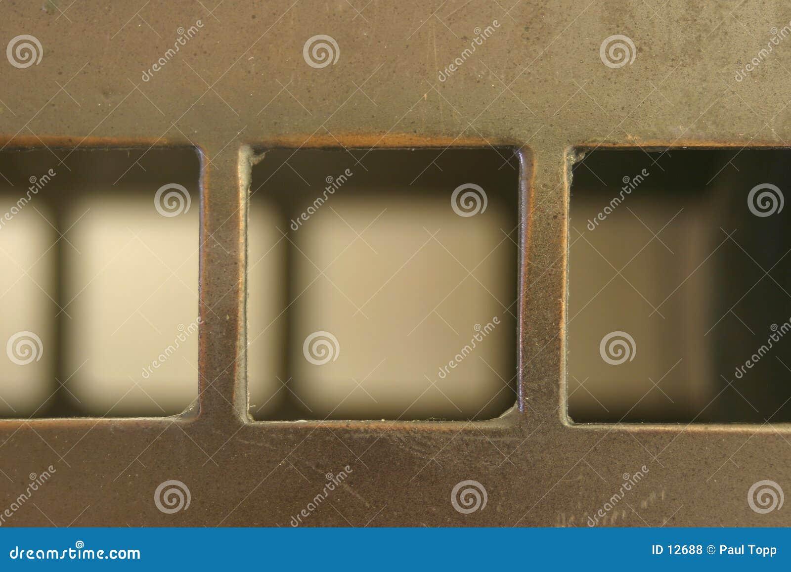 Quadrate und Schatten