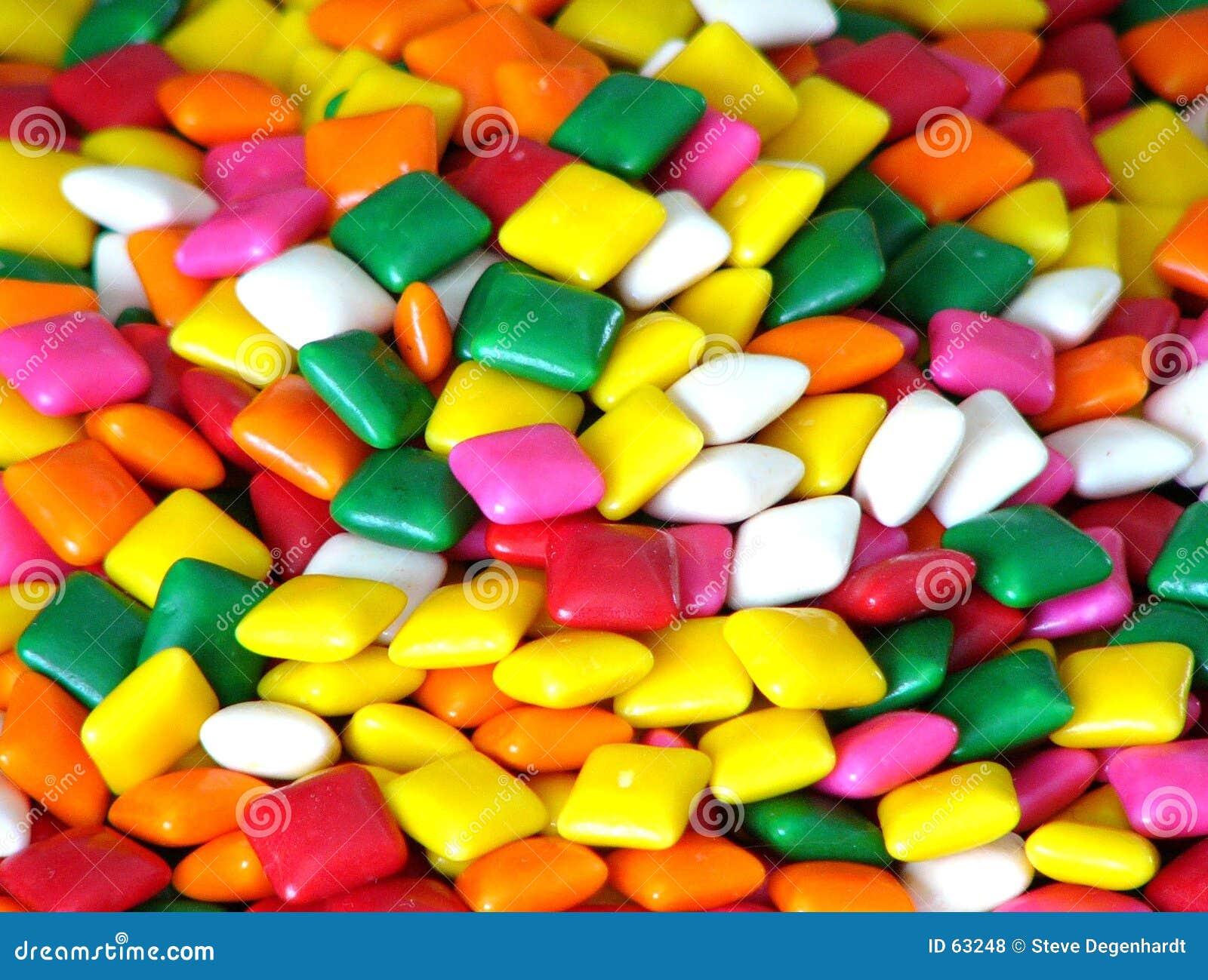 Quadrati di gomma da masticare