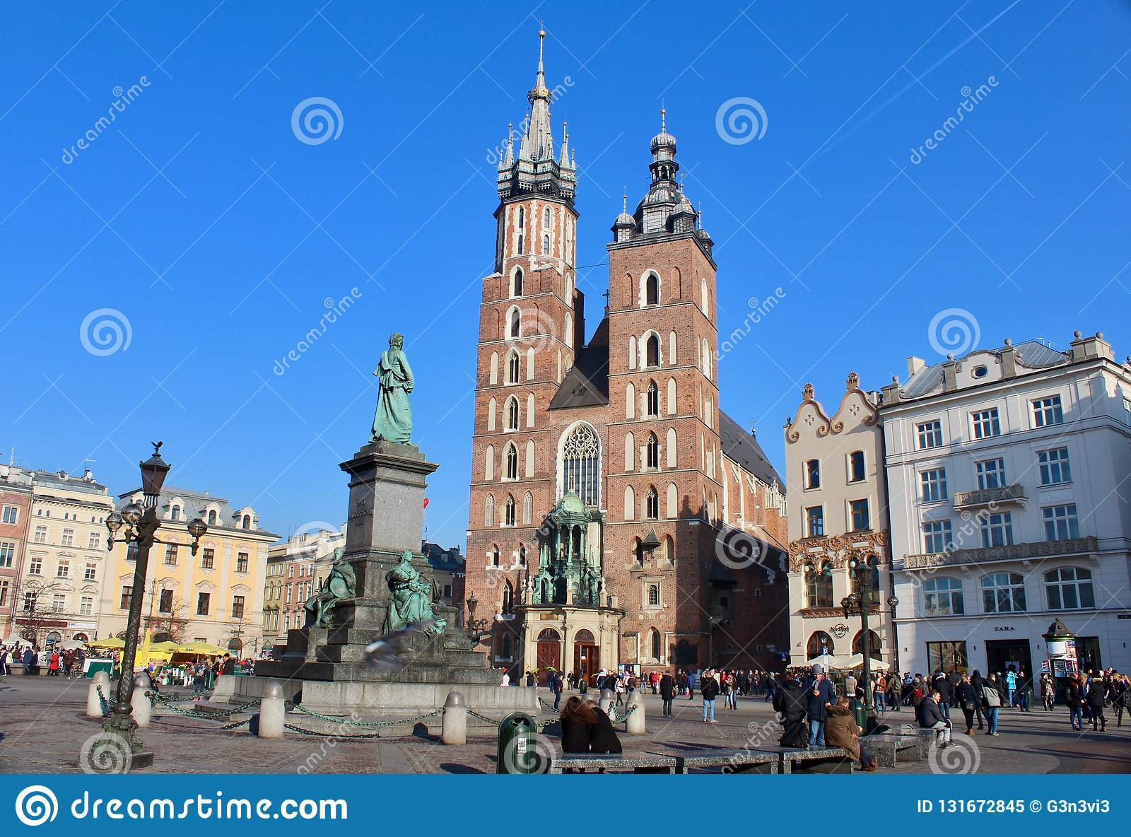 Quadrato di Cracovia, Polonia
