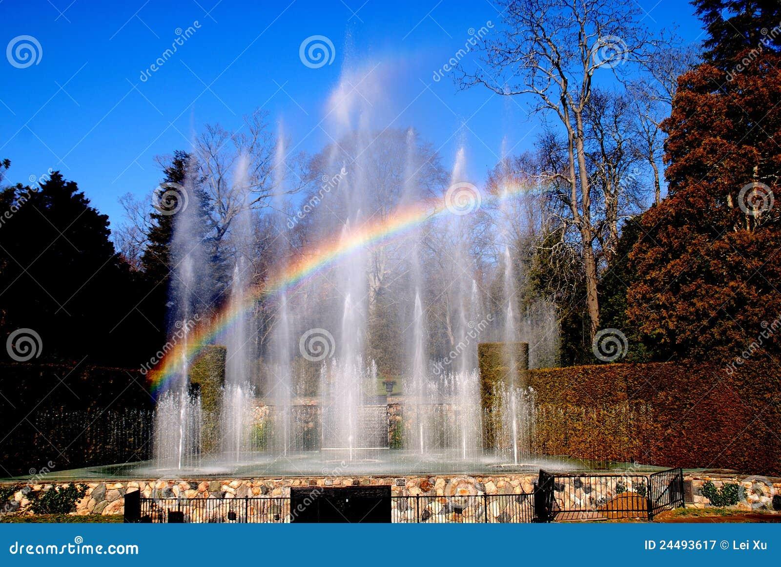Quadrato di Kennett, PA: Longwood fa il giardinaggio fontane