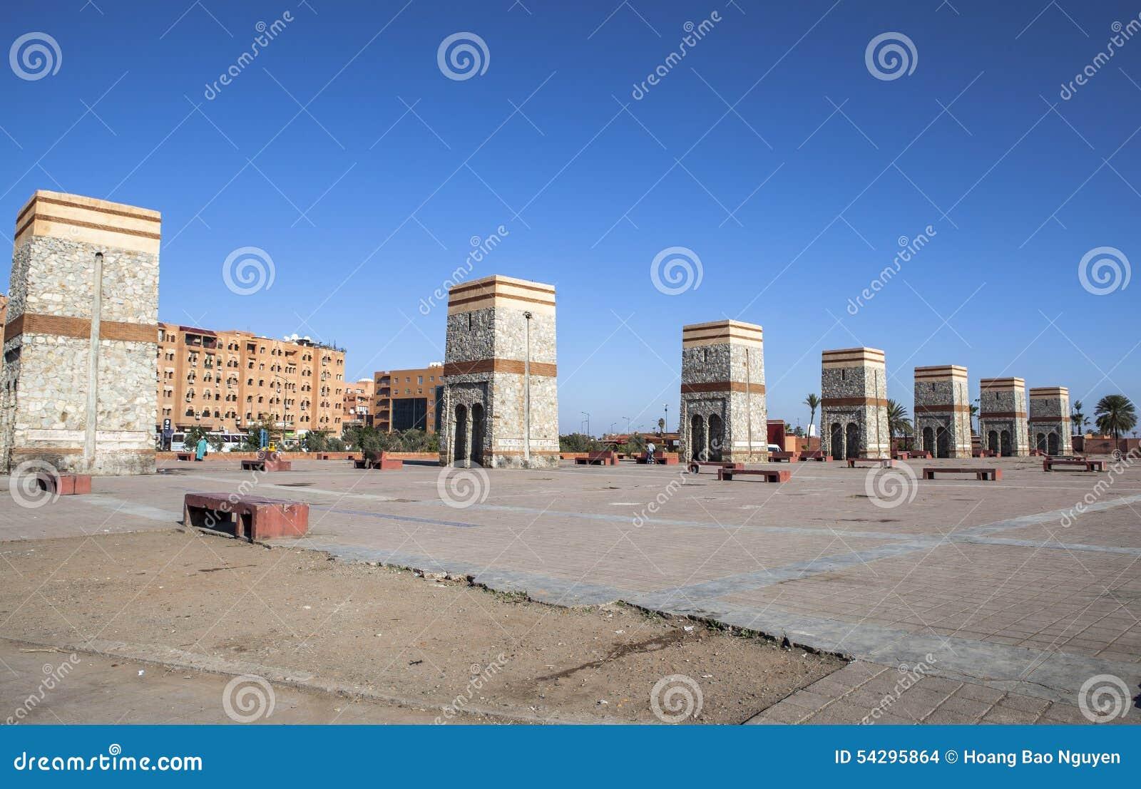 Quadrato di Marrakesh, Marocco