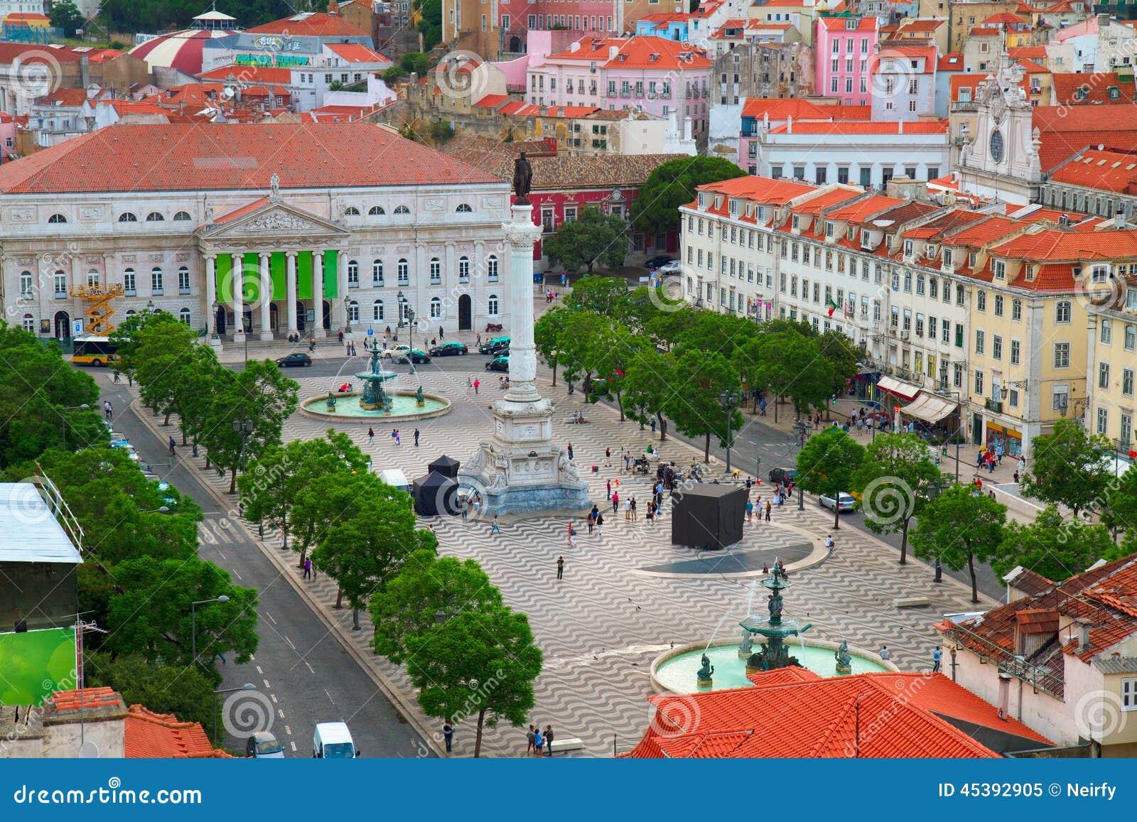 Quadrato di Rossio, Lisbona