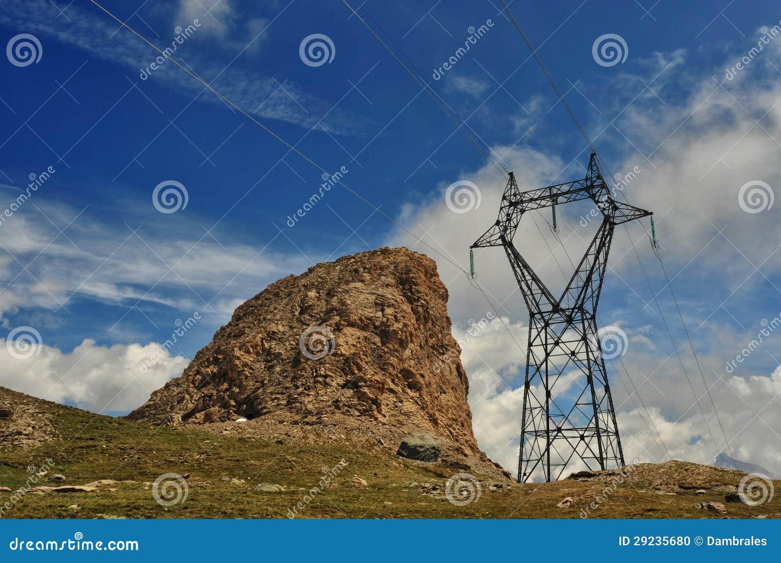 Download Quadro atual na montanha foto de stock. Imagem de geração - 29235680