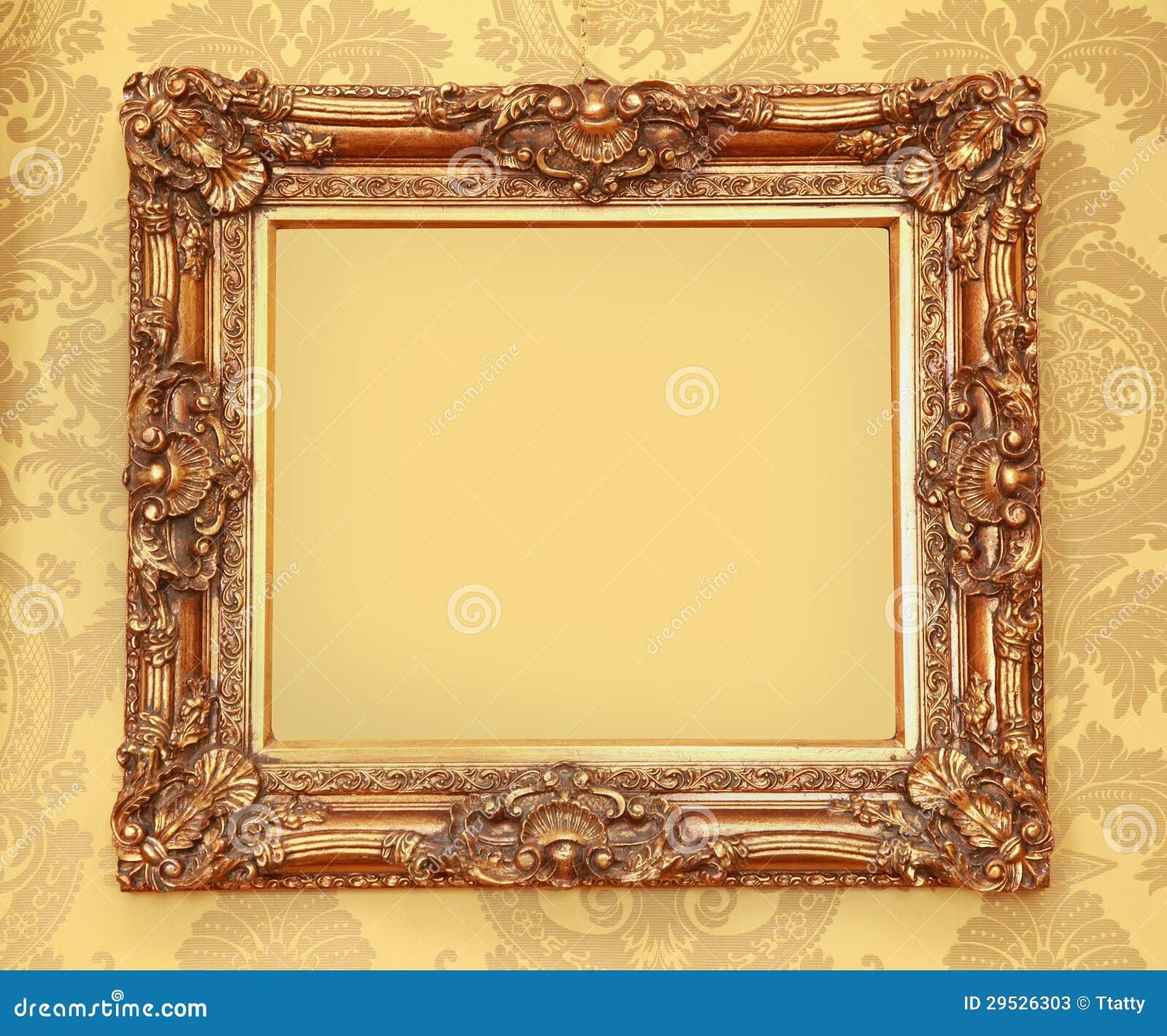 Quadro barroco do ouro