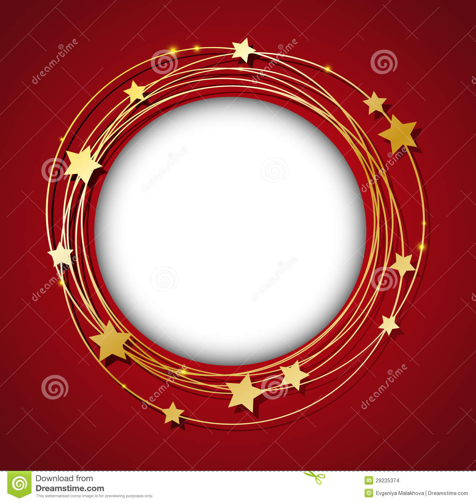 Download Quadro Com Estrelas Douradas Ilustração do Vetor - Ilustração de quadro, escuro: 29225374