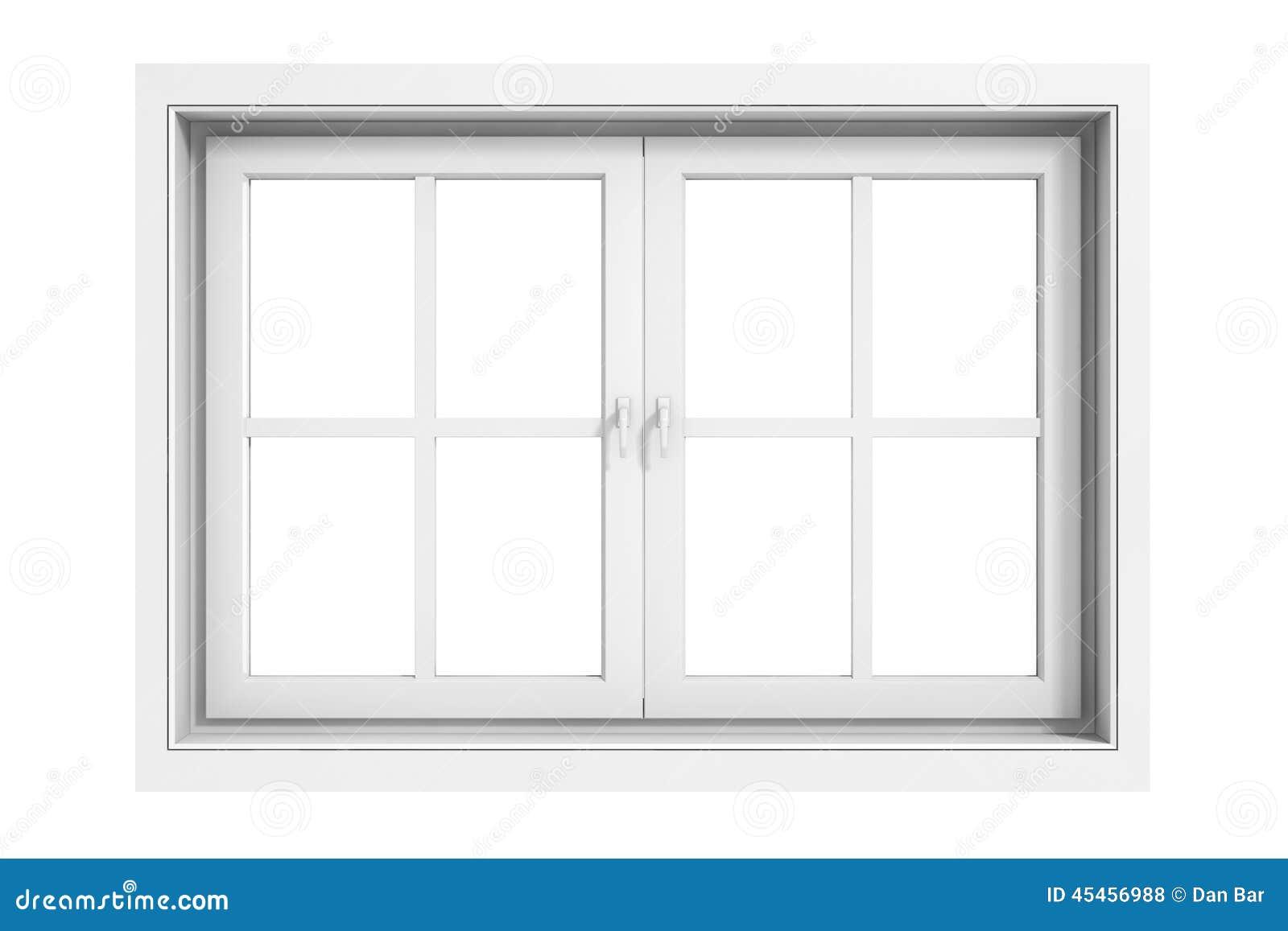 Quadro de janela 3d