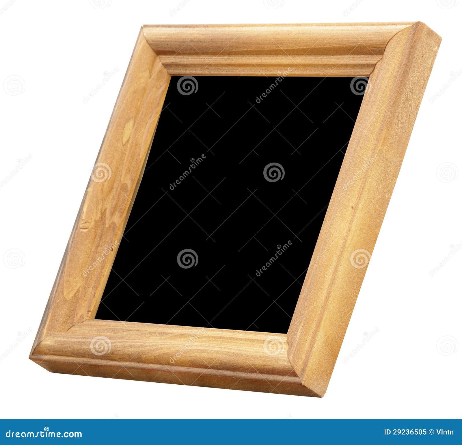 Download Quadro de madeira da foto imagem de stock. Imagem de marrom - 29236505