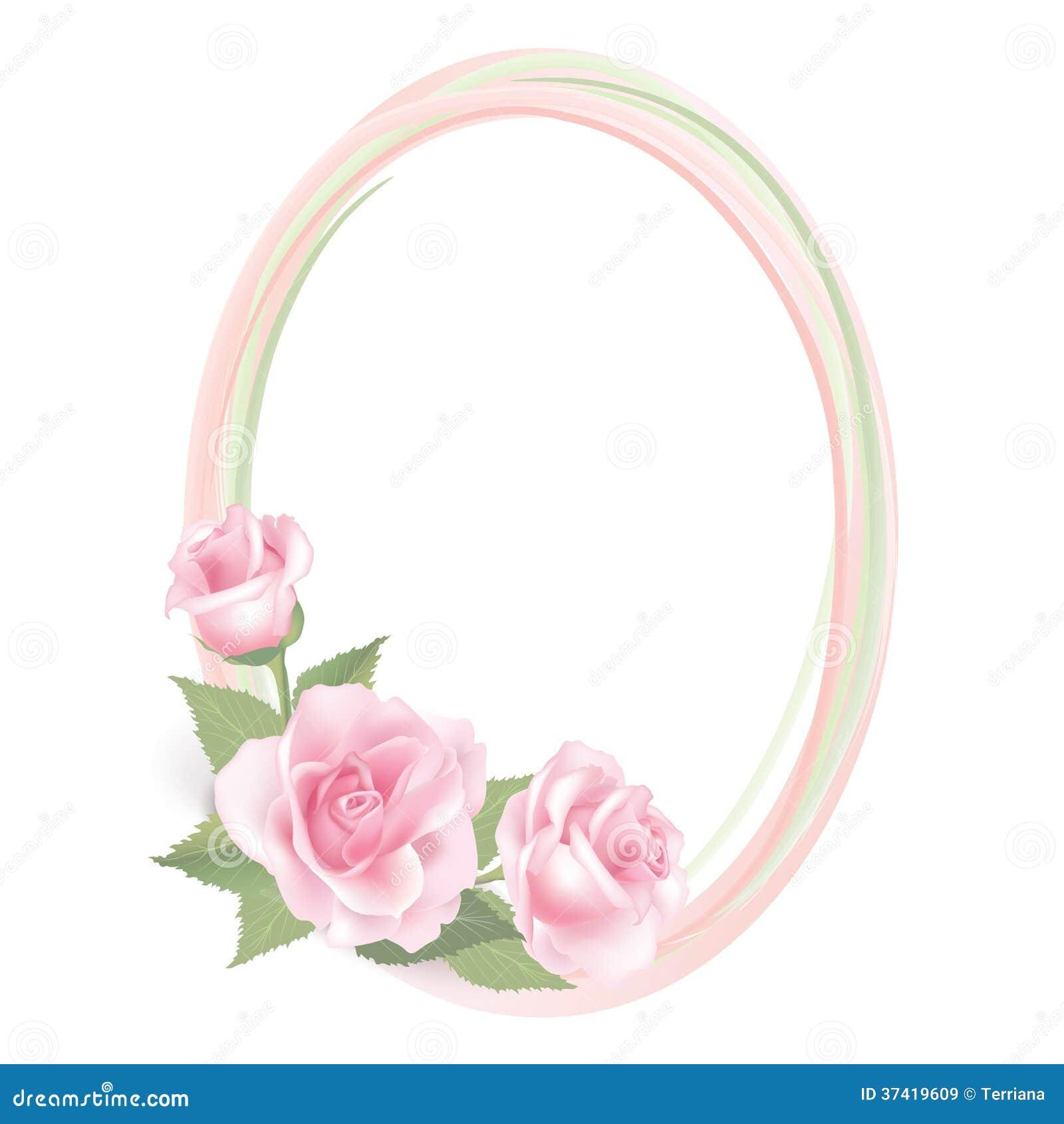decoracao quadro branco:Flowers Pink Roses Frames