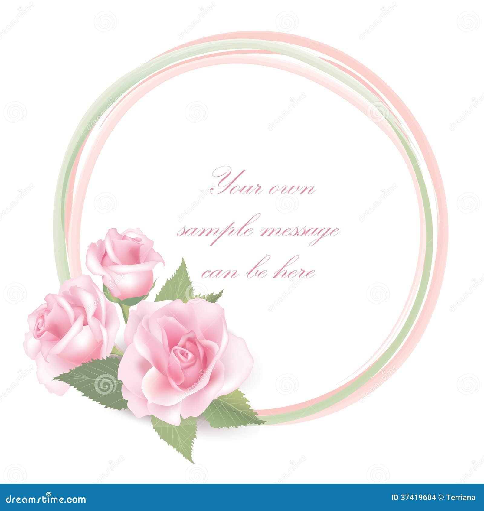 decoracao quadro branco:Rose Flower Frame