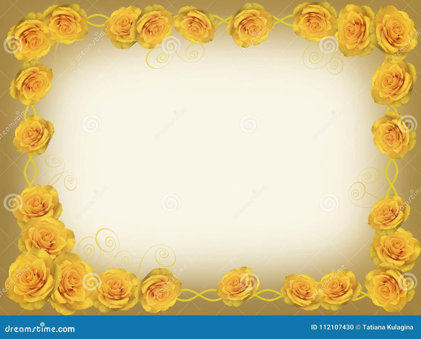Quadro de rosas amarelas