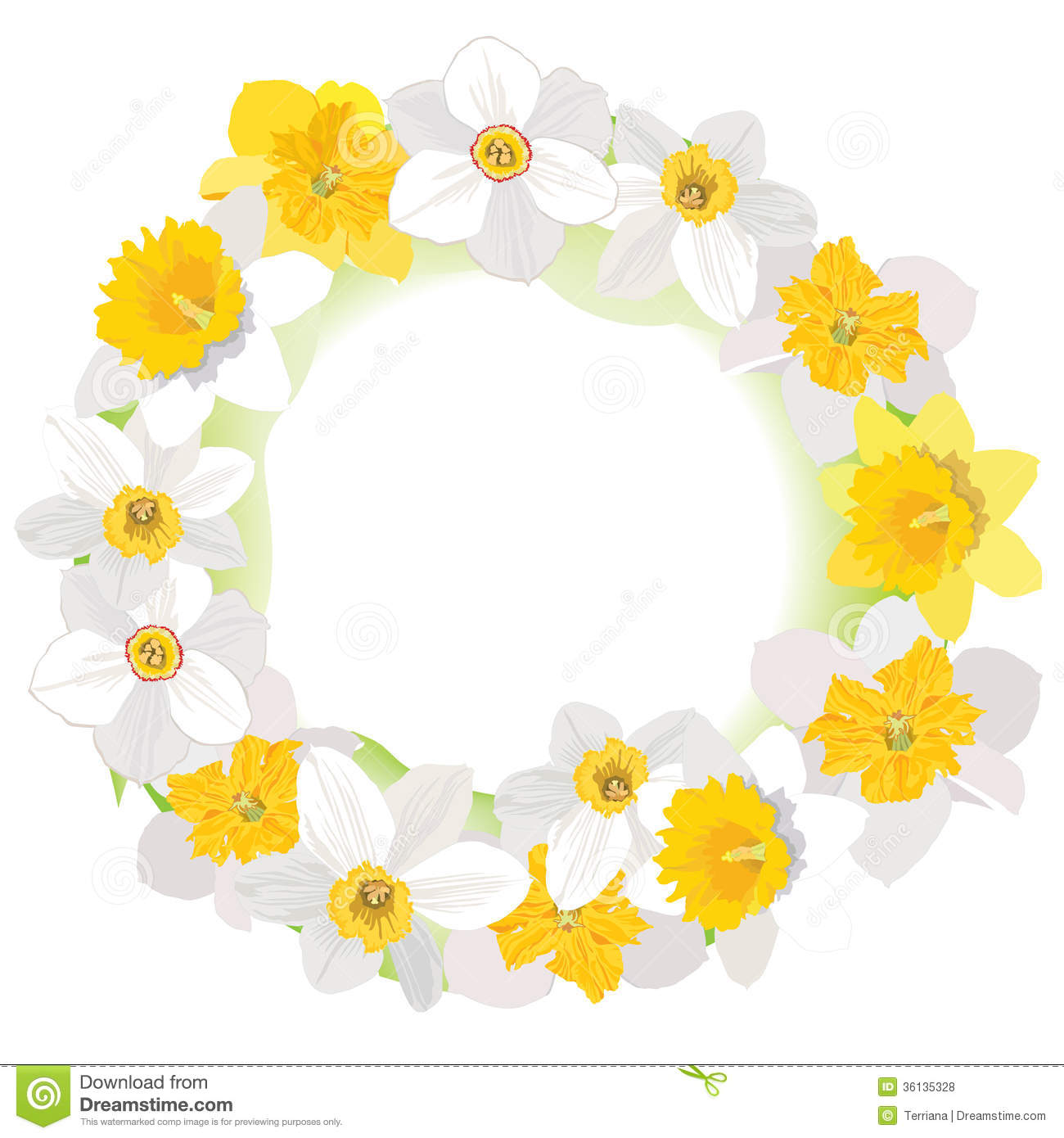 decoracao quadro branco:Yellow and White Daffodil Flower