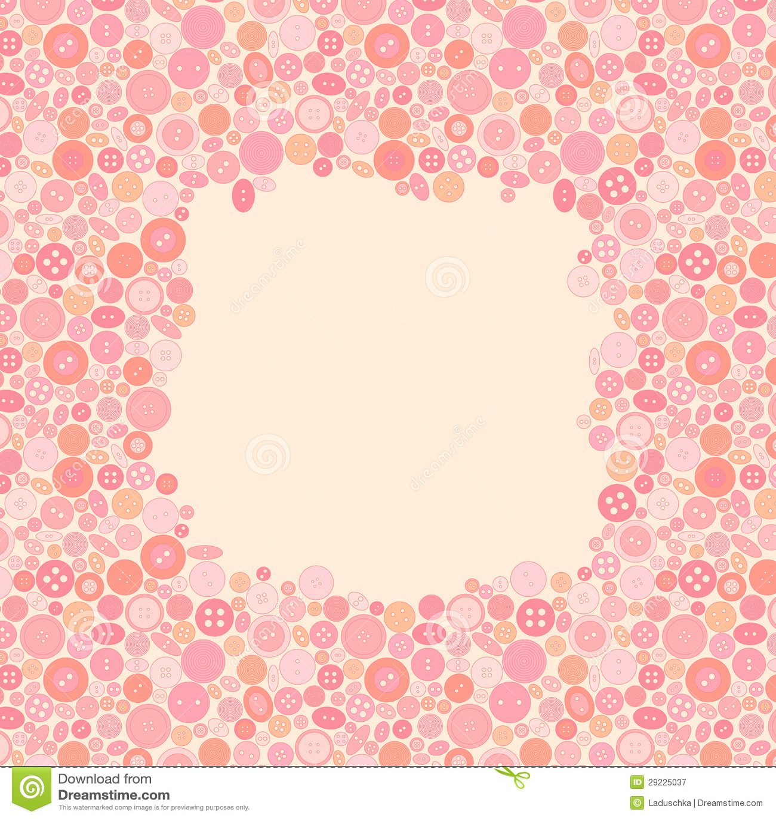 Download Quadro feito dos botões. ilustração do vetor. Ilustração de graduação - 29225037