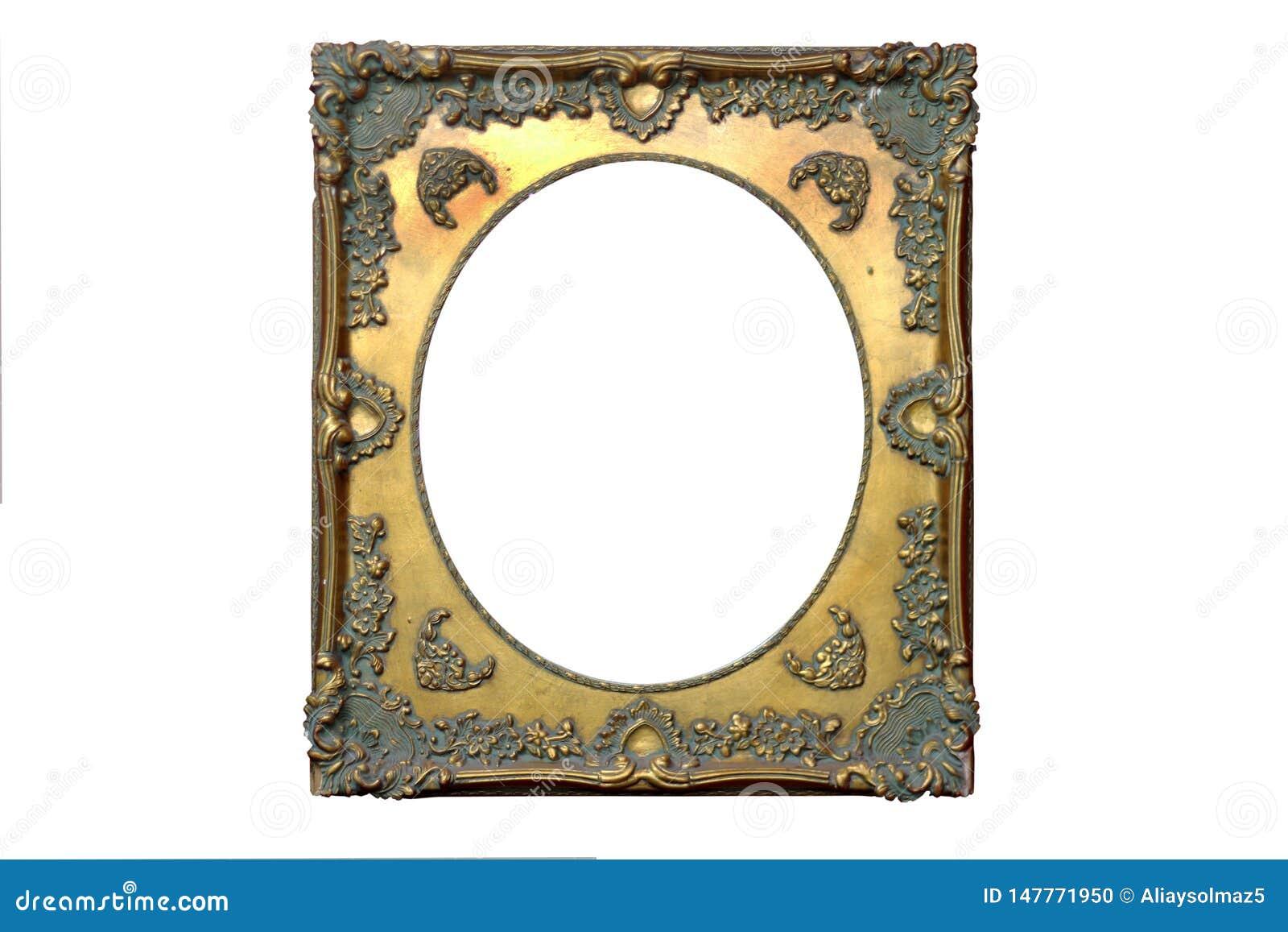 Quadro isolado do espelho, ornamenta??o, material de madeira