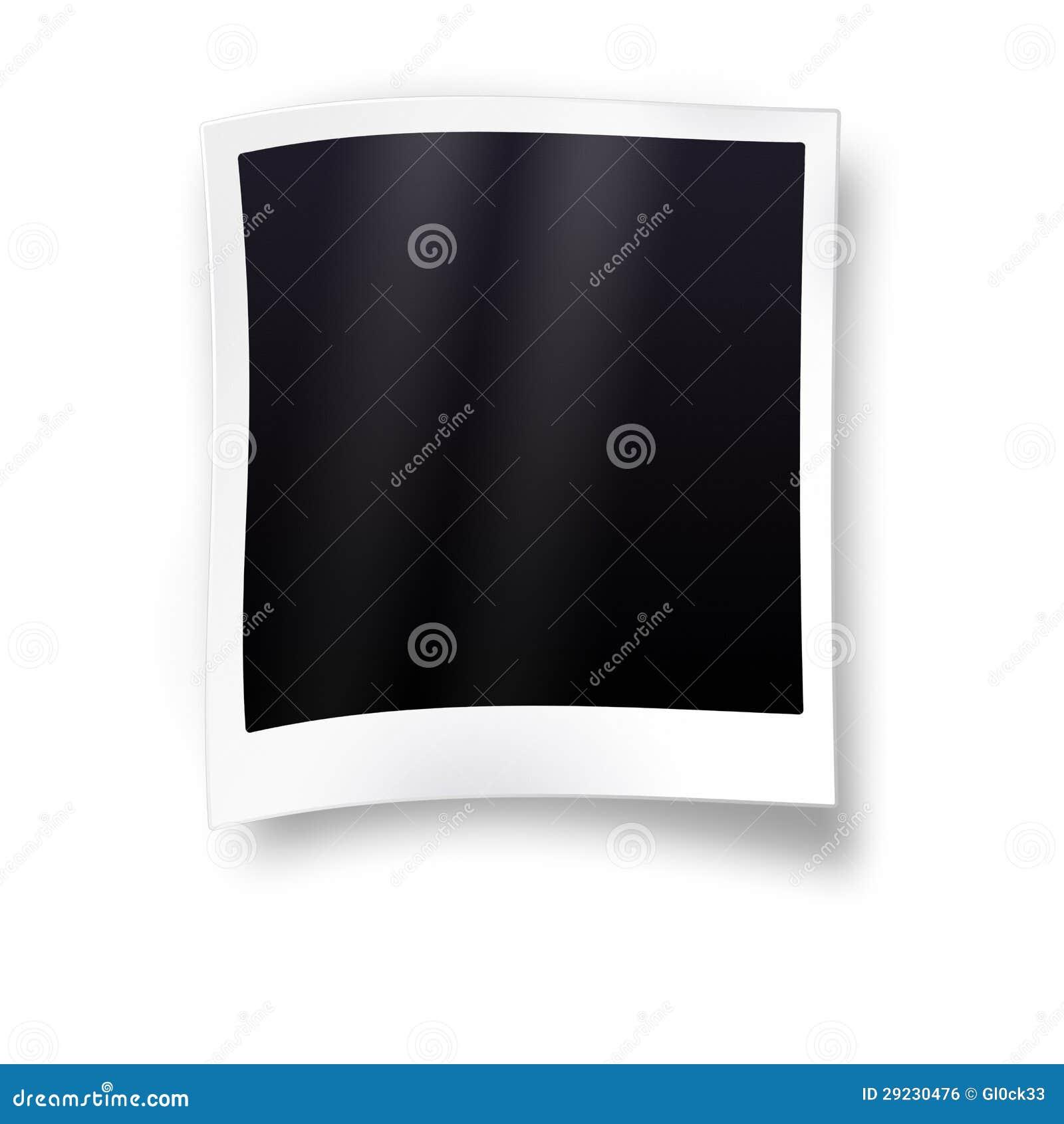 Download Quadro vazio da foto ilustração stock. Ilustração de papel - 29230476