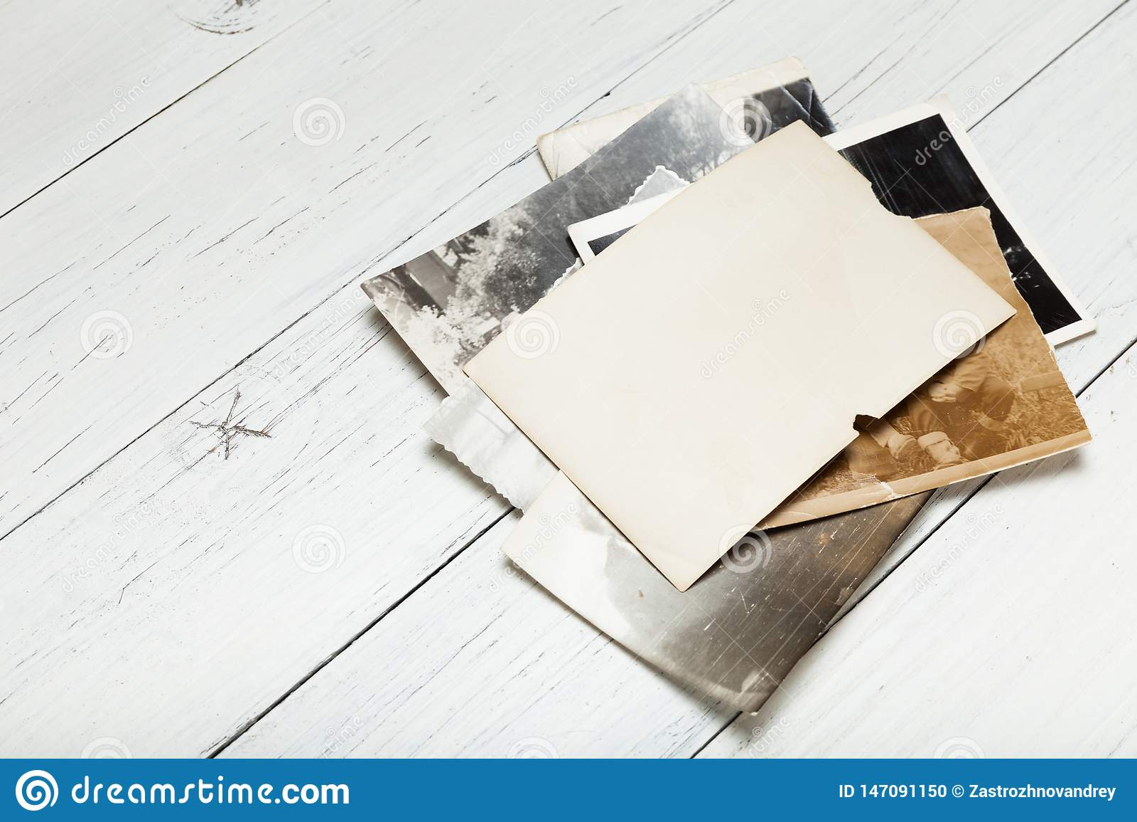 Quadro velho da foto do vintage, placa do papel do filme