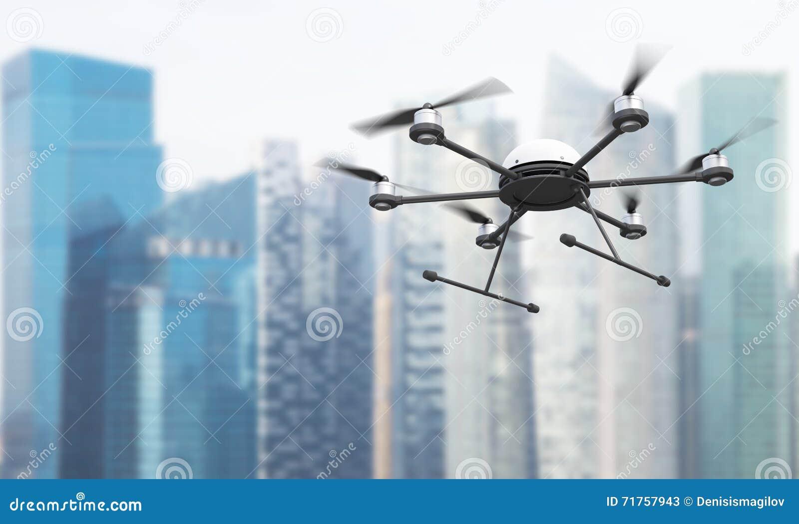 Quadrocopter στη Σιγκαπούρη