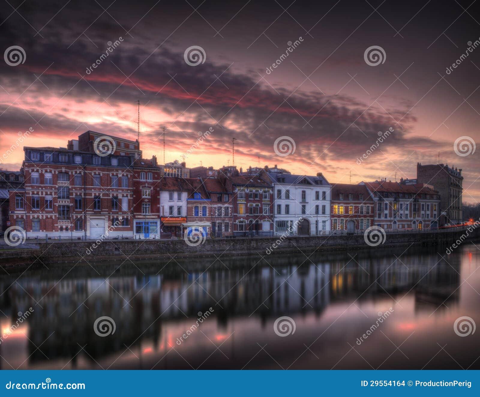 Quai du wault en Lille - Francia