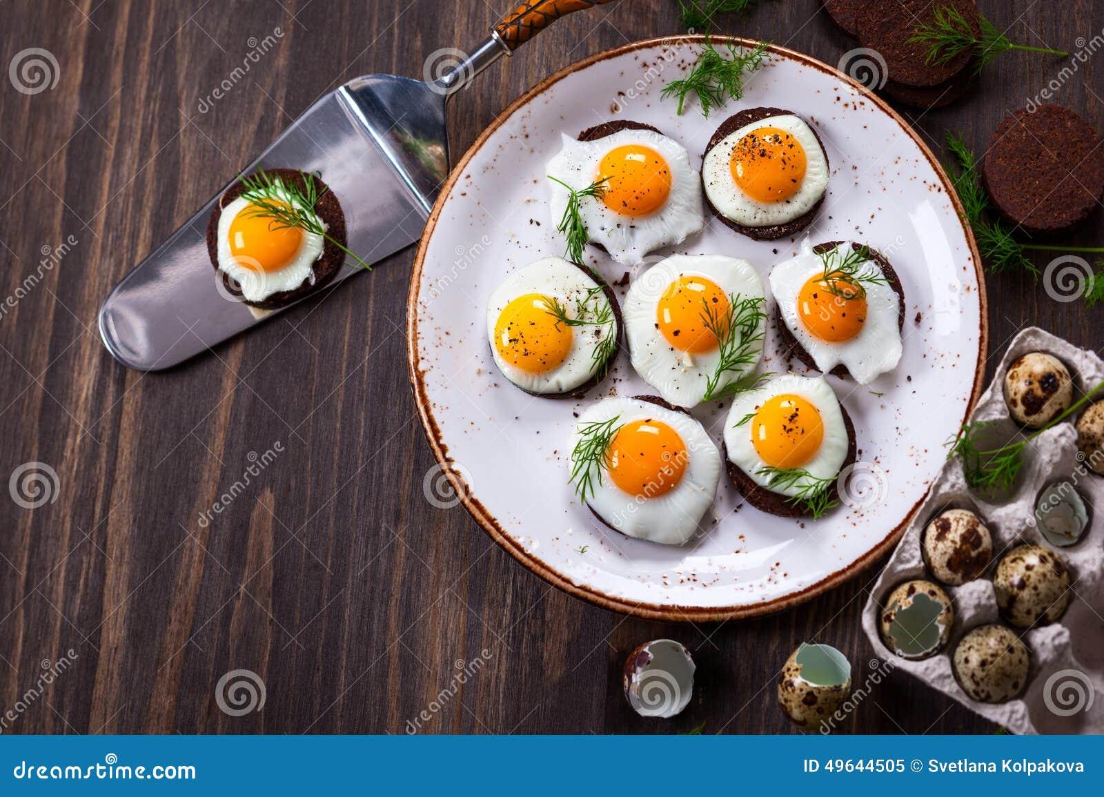 Quail egg canapes stock photo image 49644505 for Quail egg canape