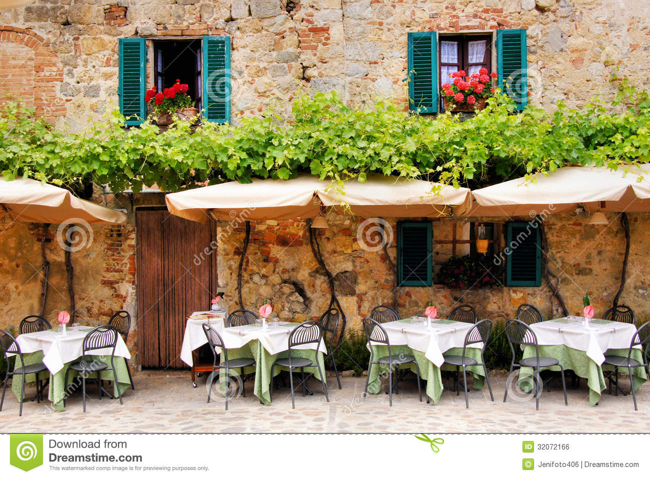 Quaint Cafe Royalty Free Stock Image Image 32072166 : quaint cafe tables chairs outside stone building tuscany italy 32072166 from www.dreamstime.com size 1300 x 957 jpeg 292kB