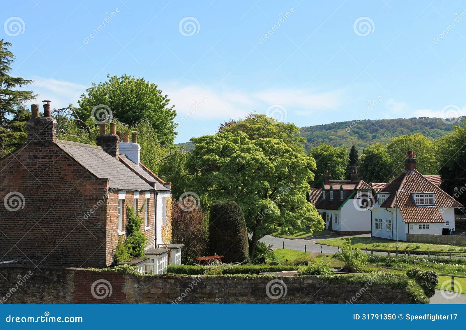 Quaint English Village Stock Photo - Image: 31791350 Quaint English Cottages