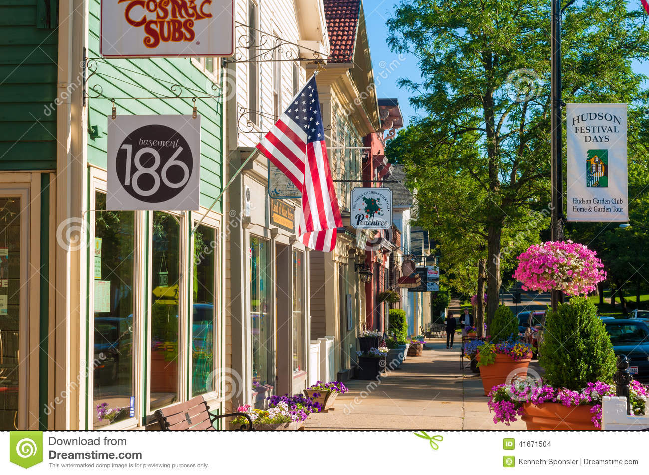 Quaint Hudson Editorial Stock Image Image 41671504