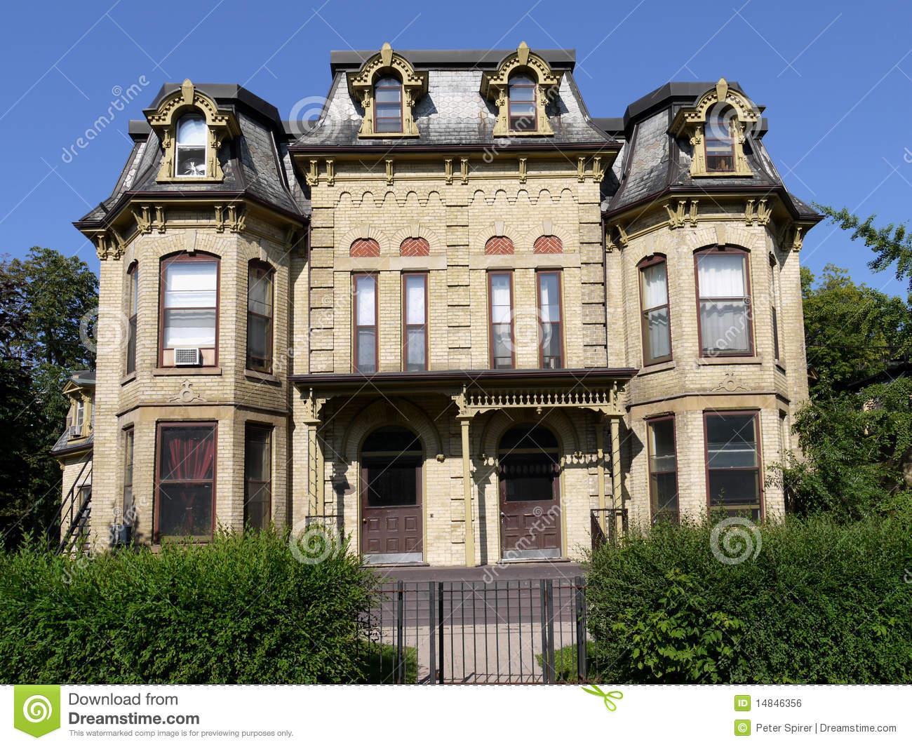 Astounding Quaint Old Victorian House Royalty Free Stock Image Image 14846356 Largest Home Design Picture Inspirations Pitcheantrous