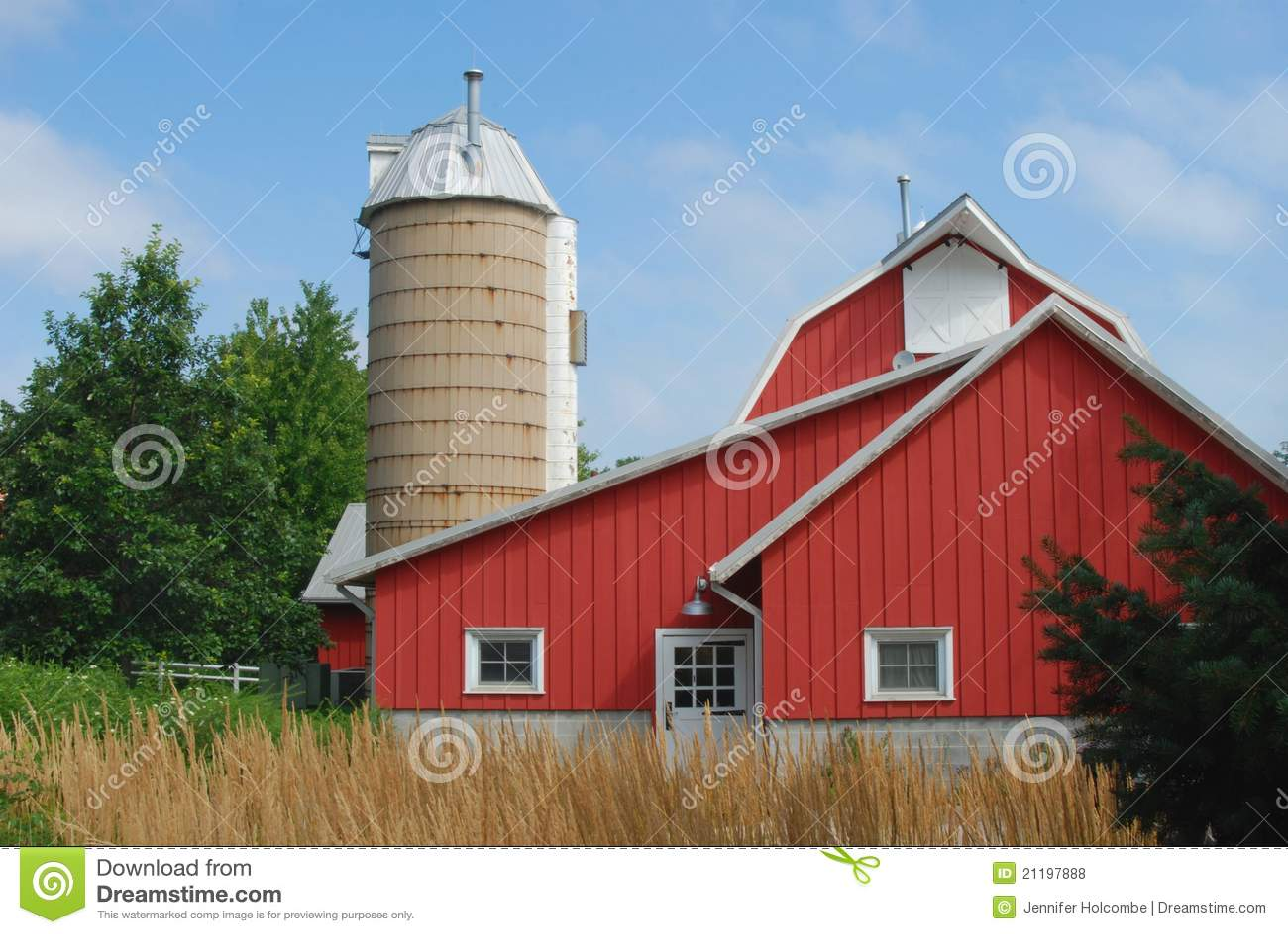 A quaint traditional farmstead