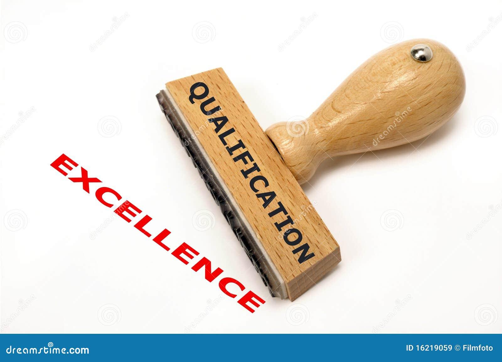 Qualifikationshervorragende leistung
