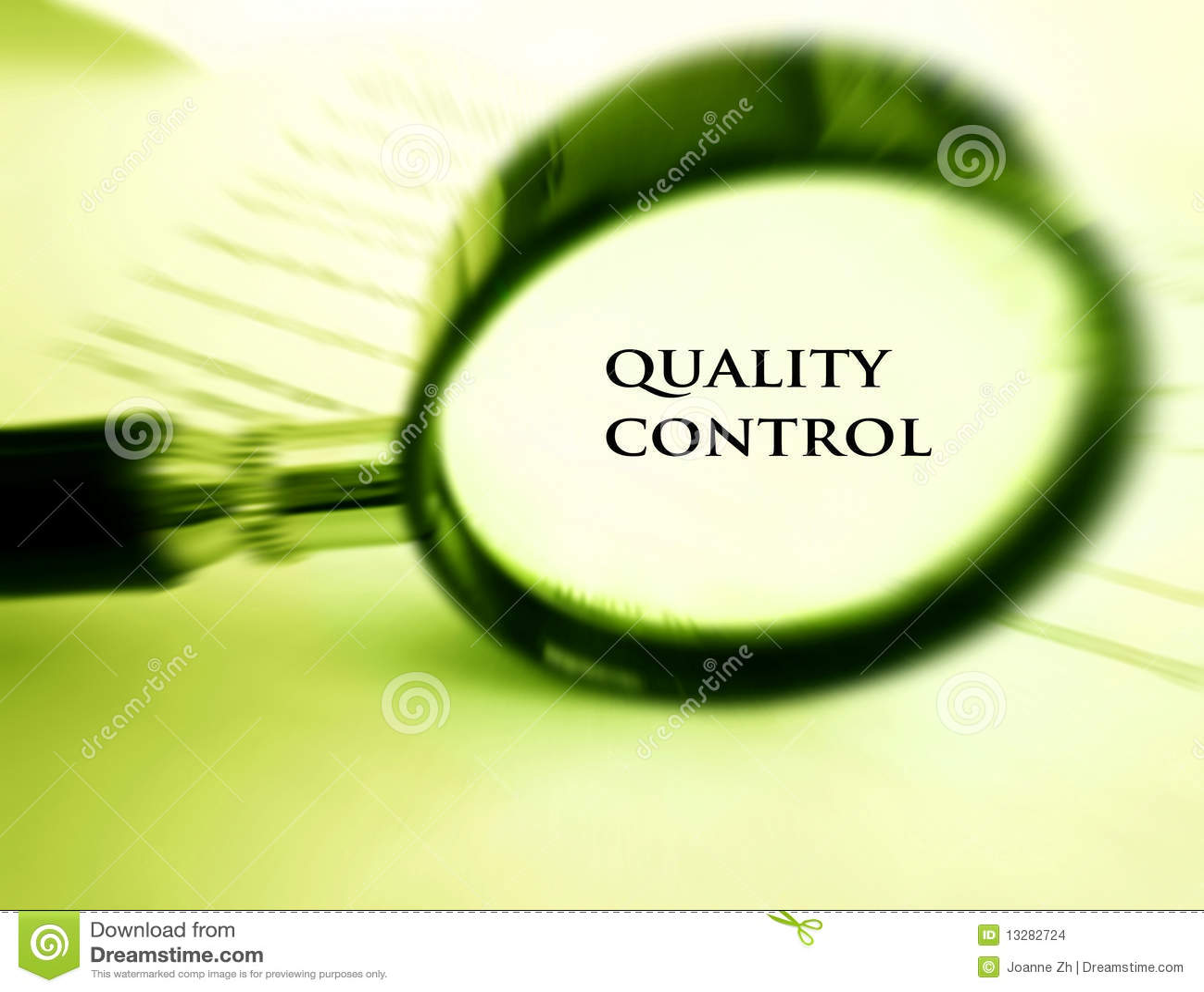 Qualitätskontrollekonzept