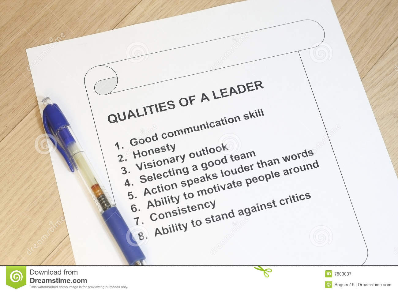 qualities of a leader royalty stock photography image  qualities of a leader