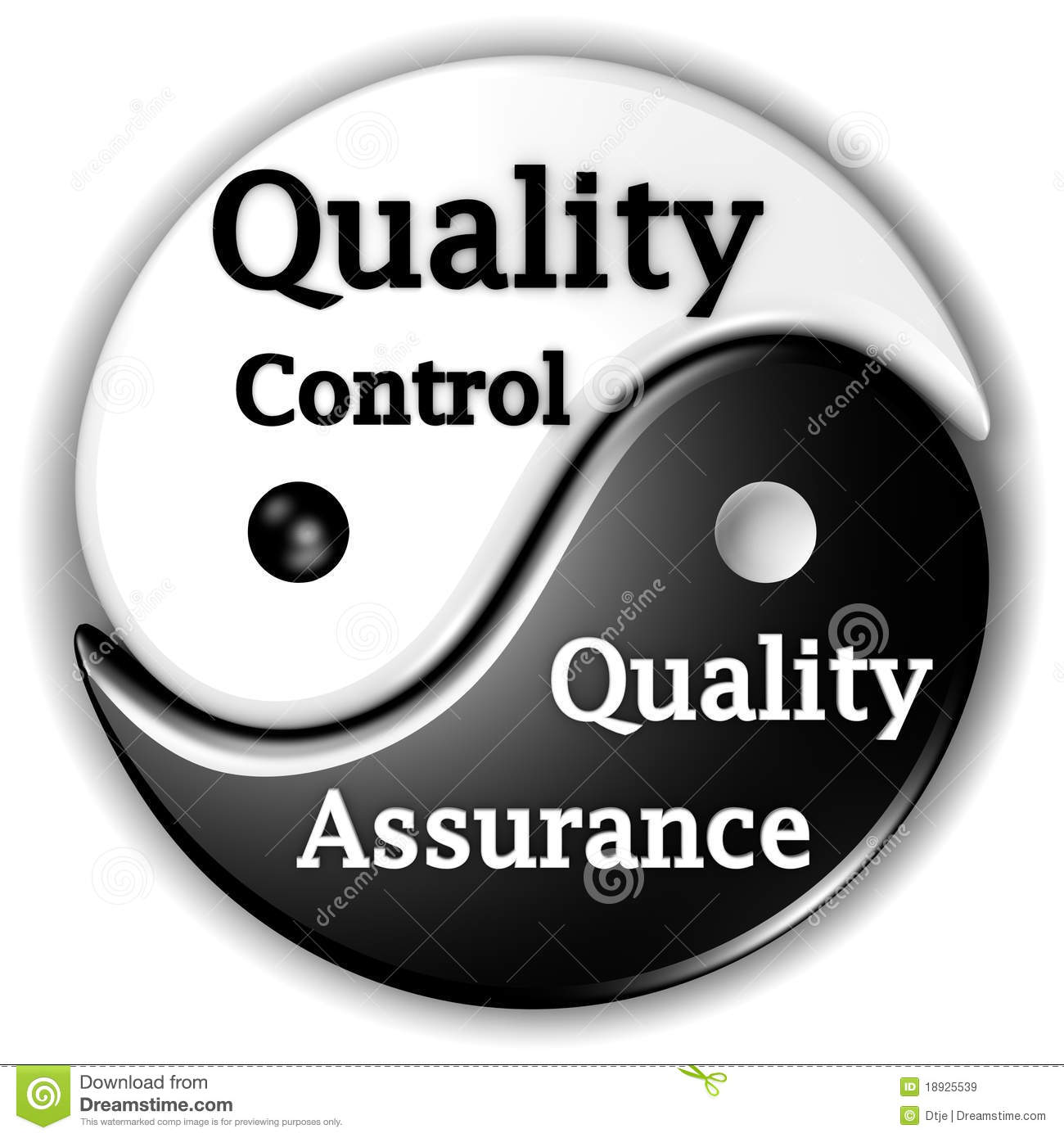 Quality Assurance And Quality Control Ying-Yang Stock ...