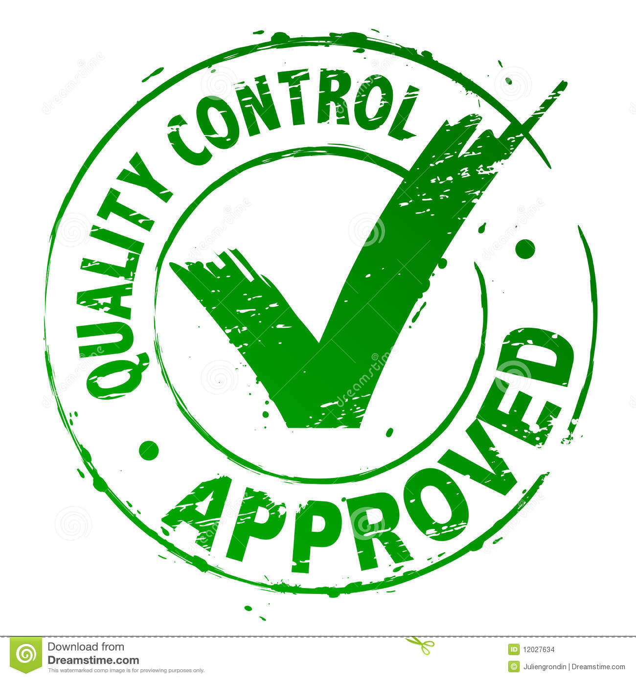 quality control approved stock vector  image of accept