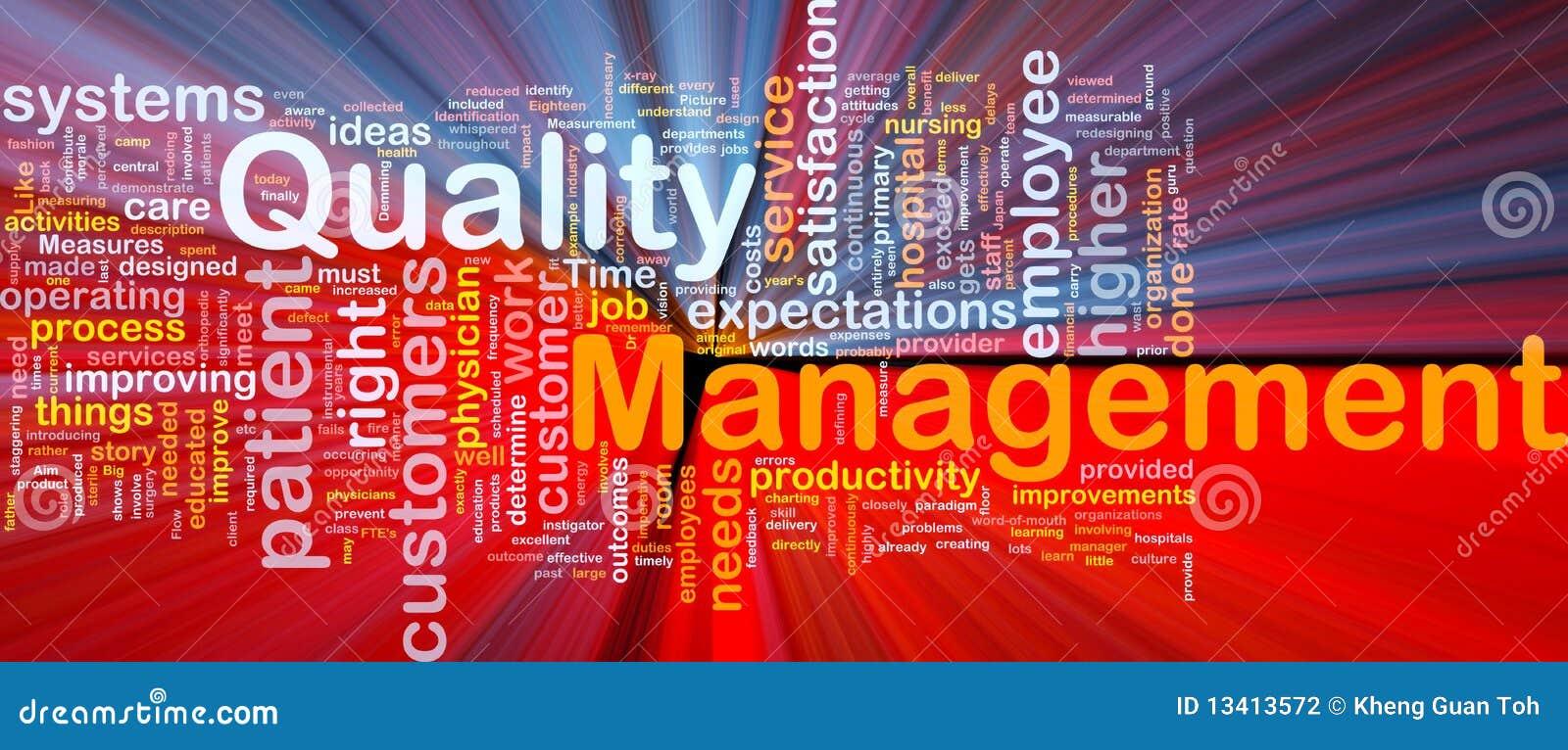 concept of quality management pdf