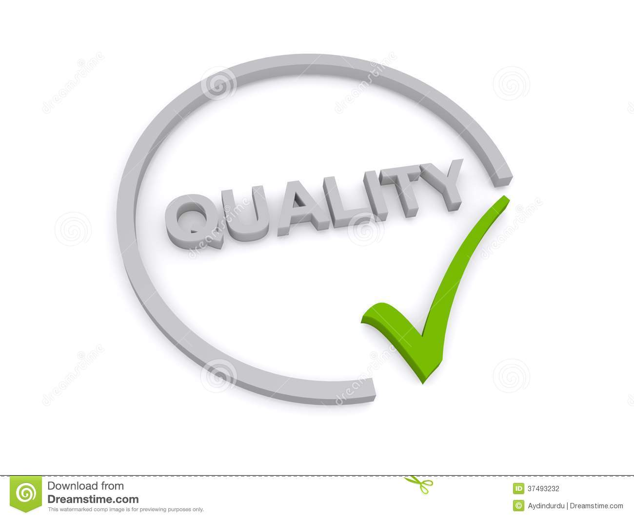 Quality Sign Stock Photography Image 37493232