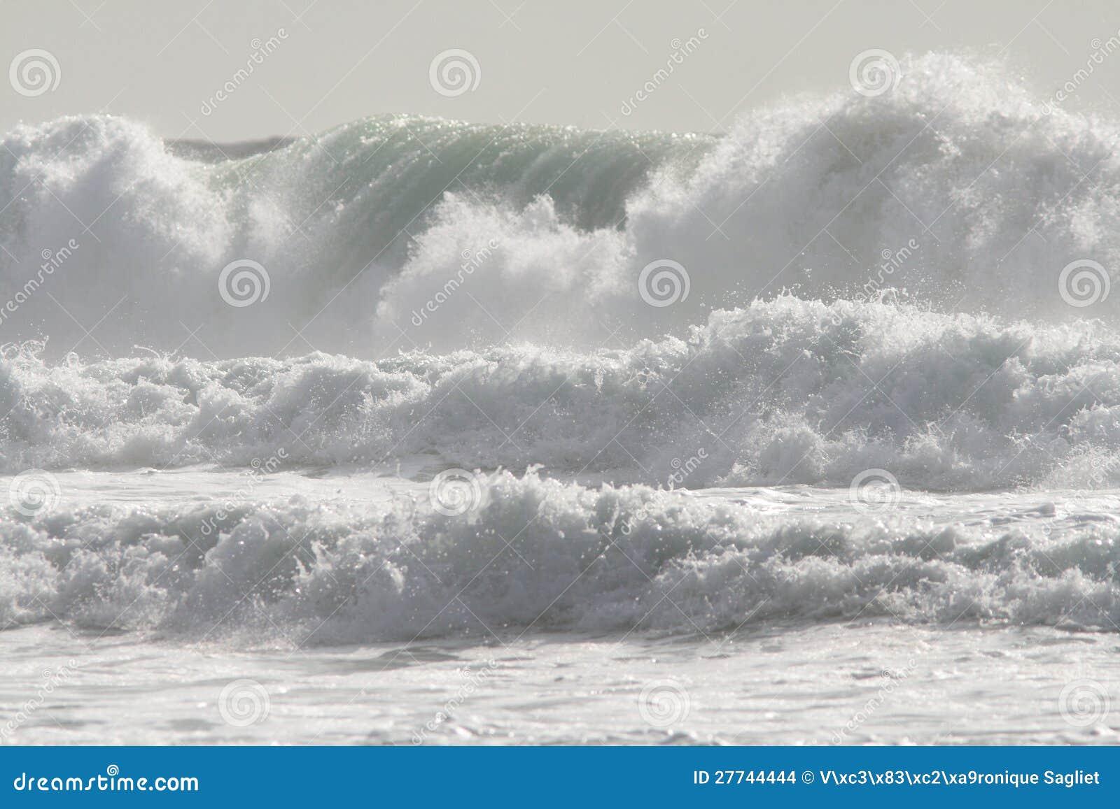 Quand la marée entre