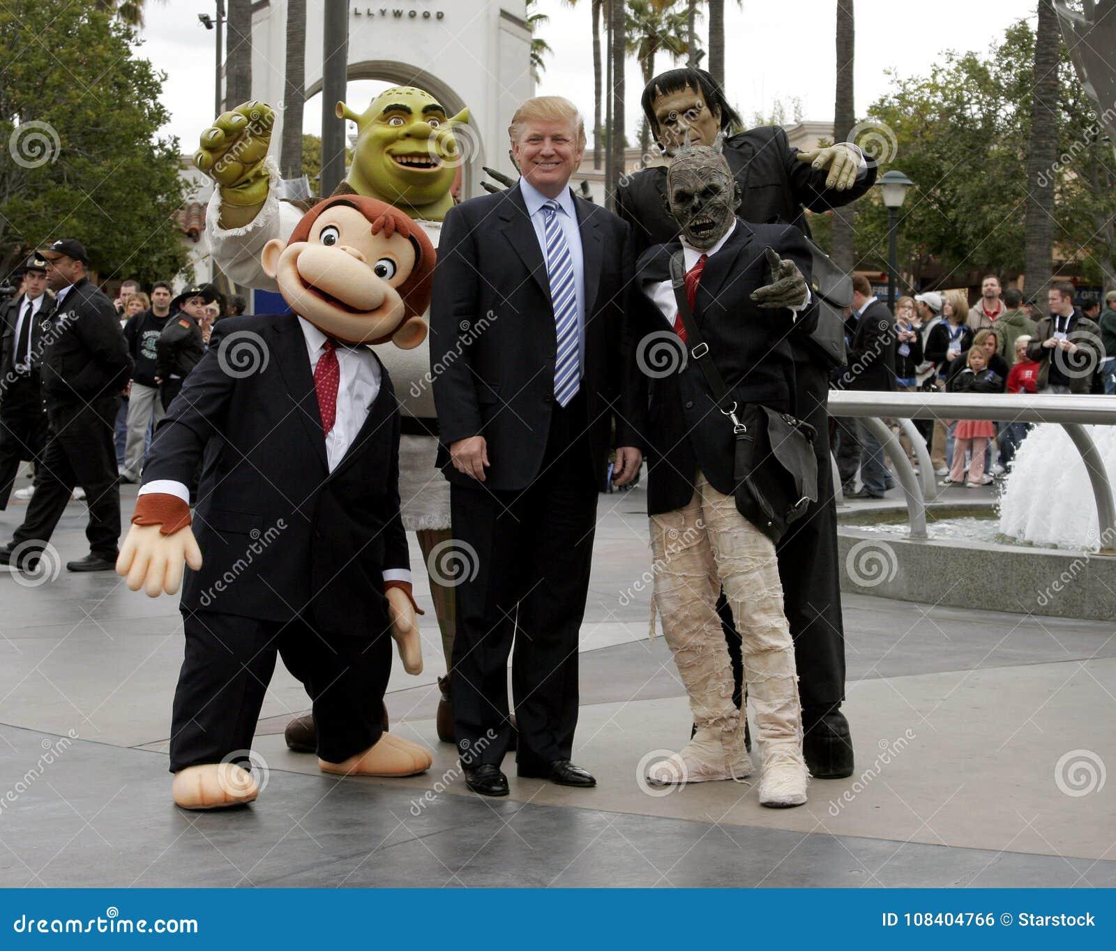 Quarante-cinquième U S Le Président Donald Trump