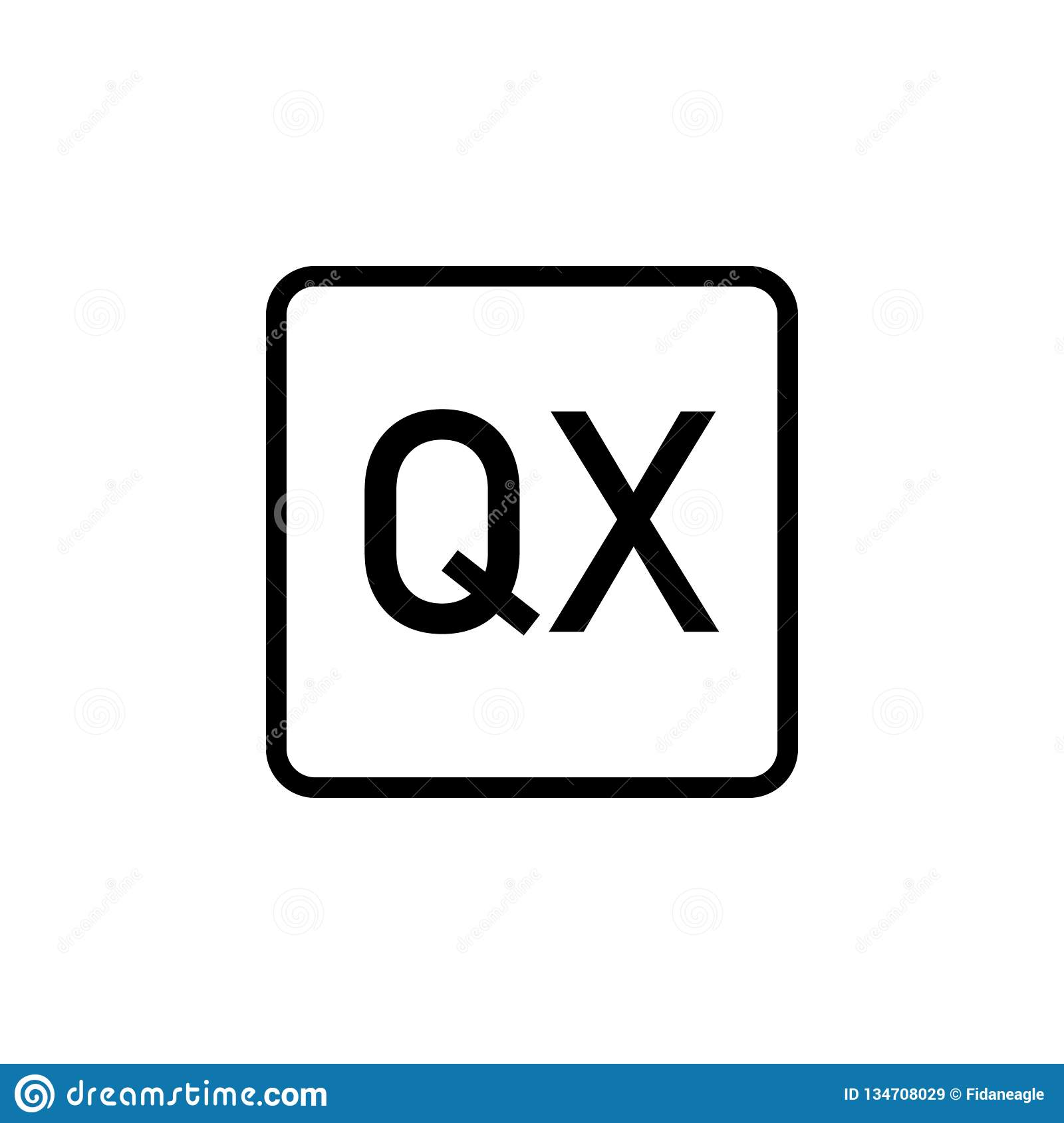Quark Icon  Can Be Used For Web, Logo, Mobile App, UI, UX