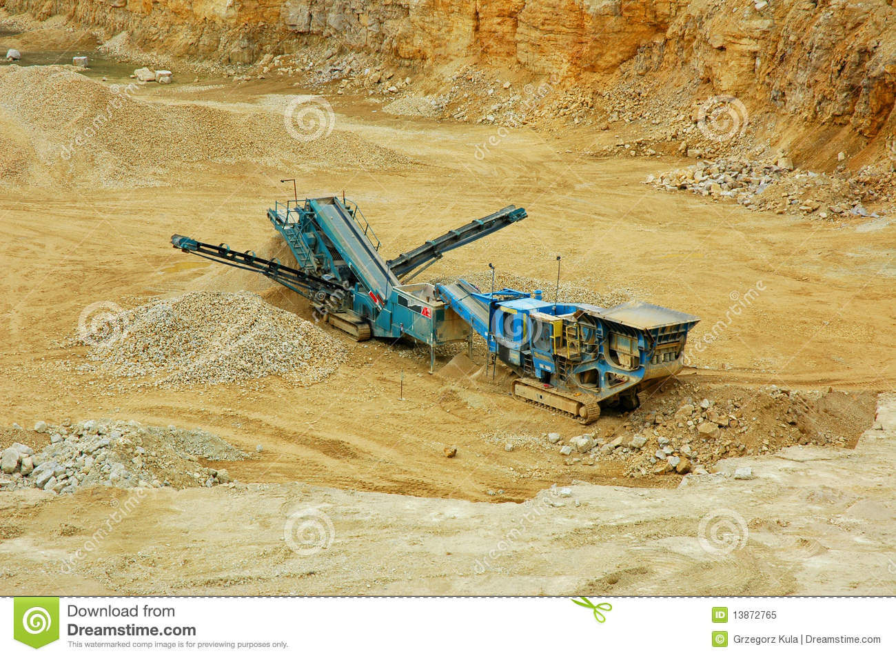 Quarry Royalty Free Stock Photo Image 13872765