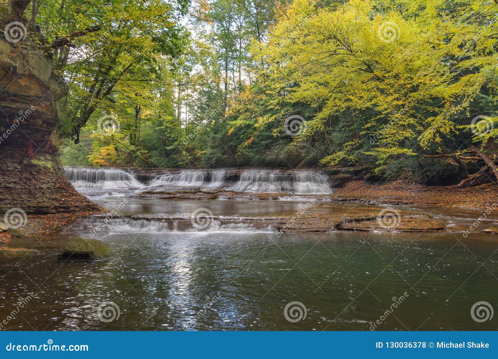 Quarry Rock Falls Bentleyville Ohio