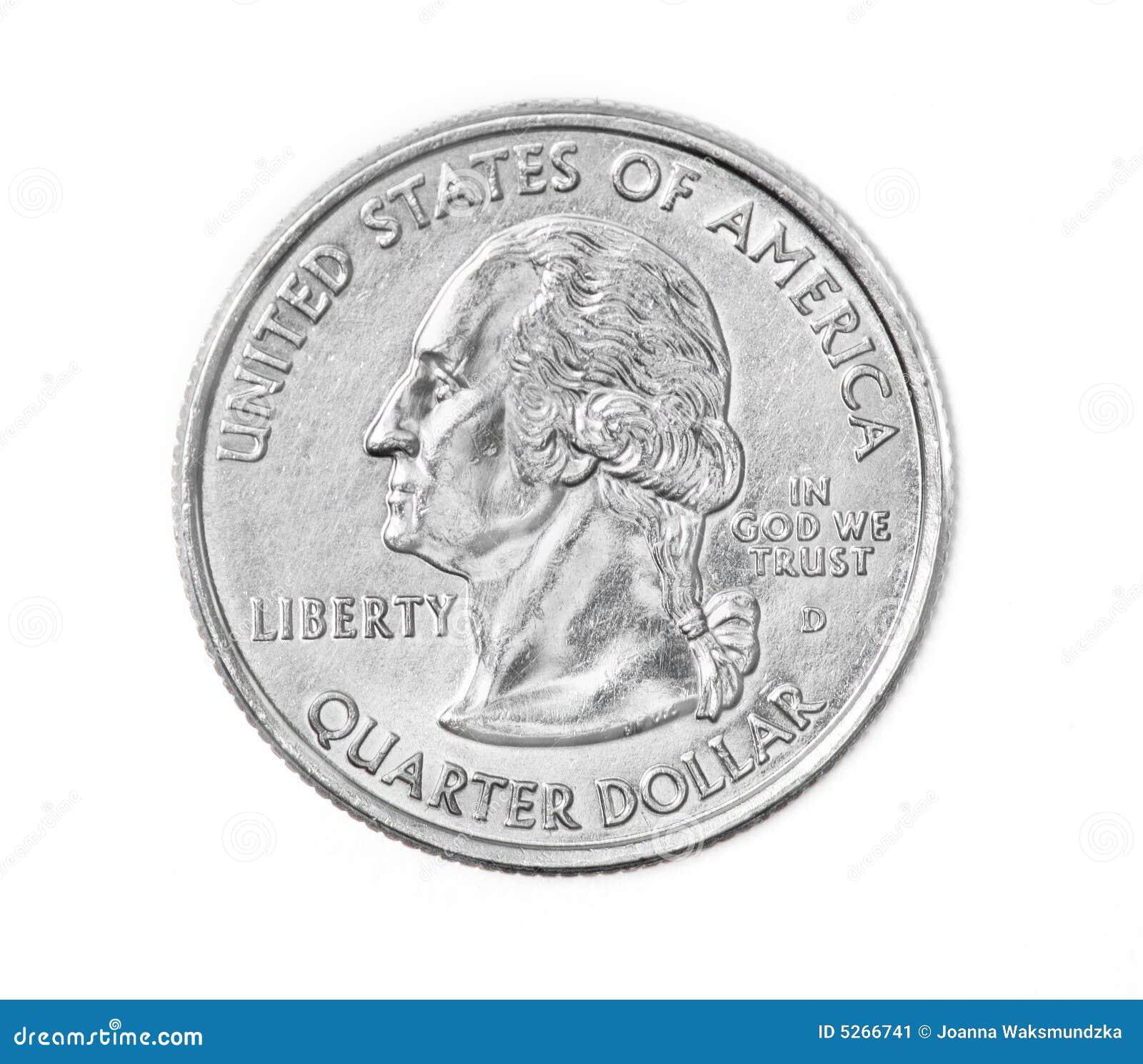 quarter coin stock image image 5266741 Quarter Clip Art Cent Clip Art