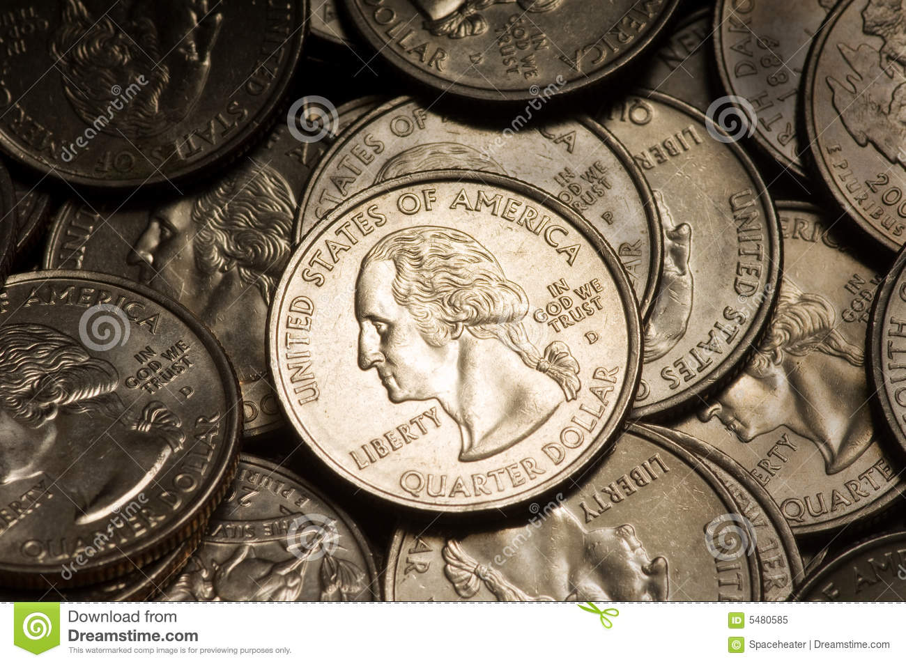 Quarter Dollar Coins