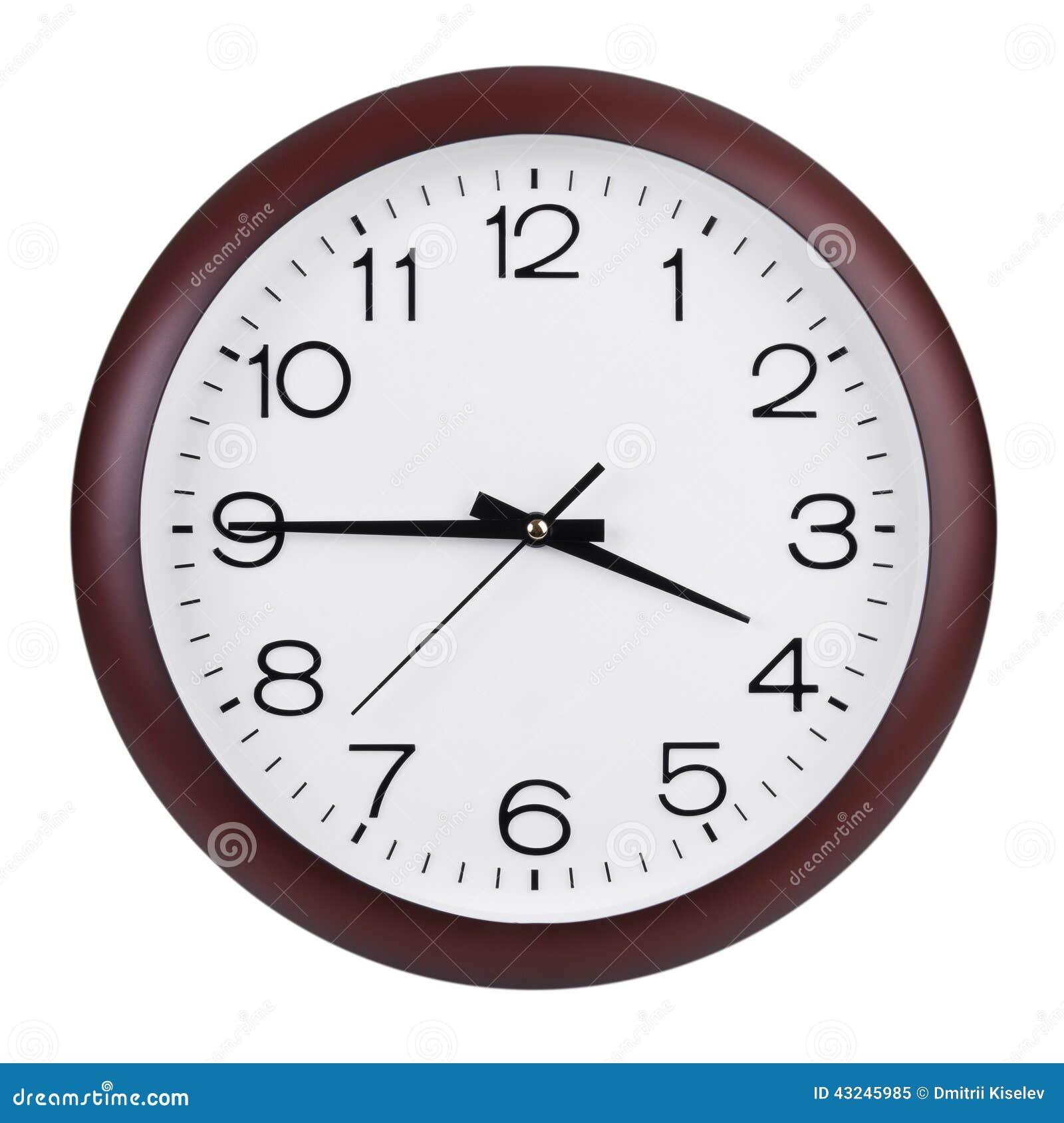 quarter to four o 39 clock stock image image of hour watch 43245985. Black Bedroom Furniture Sets. Home Design Ideas