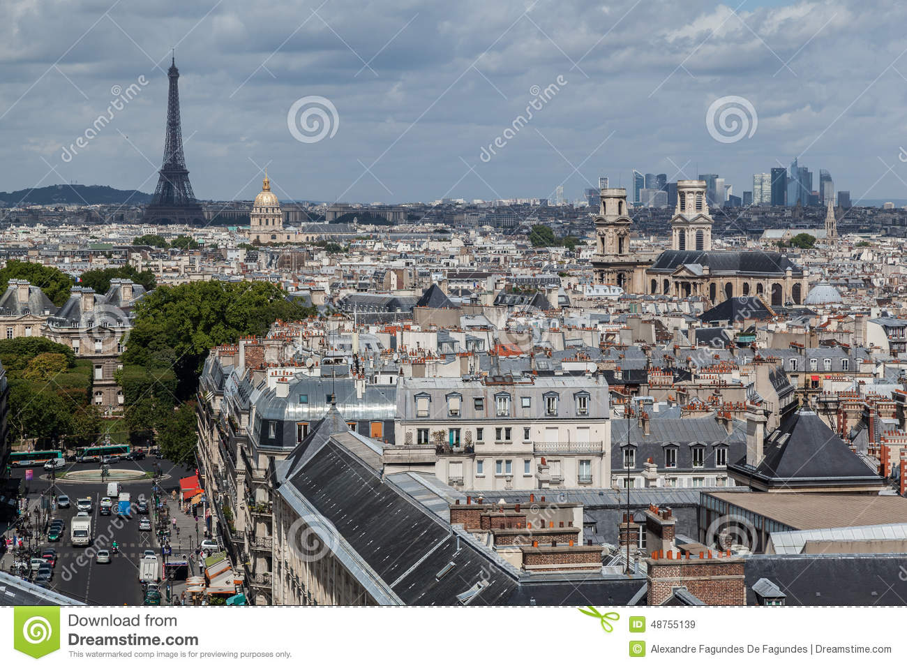 Quartier Latin Paris France Stock Photo