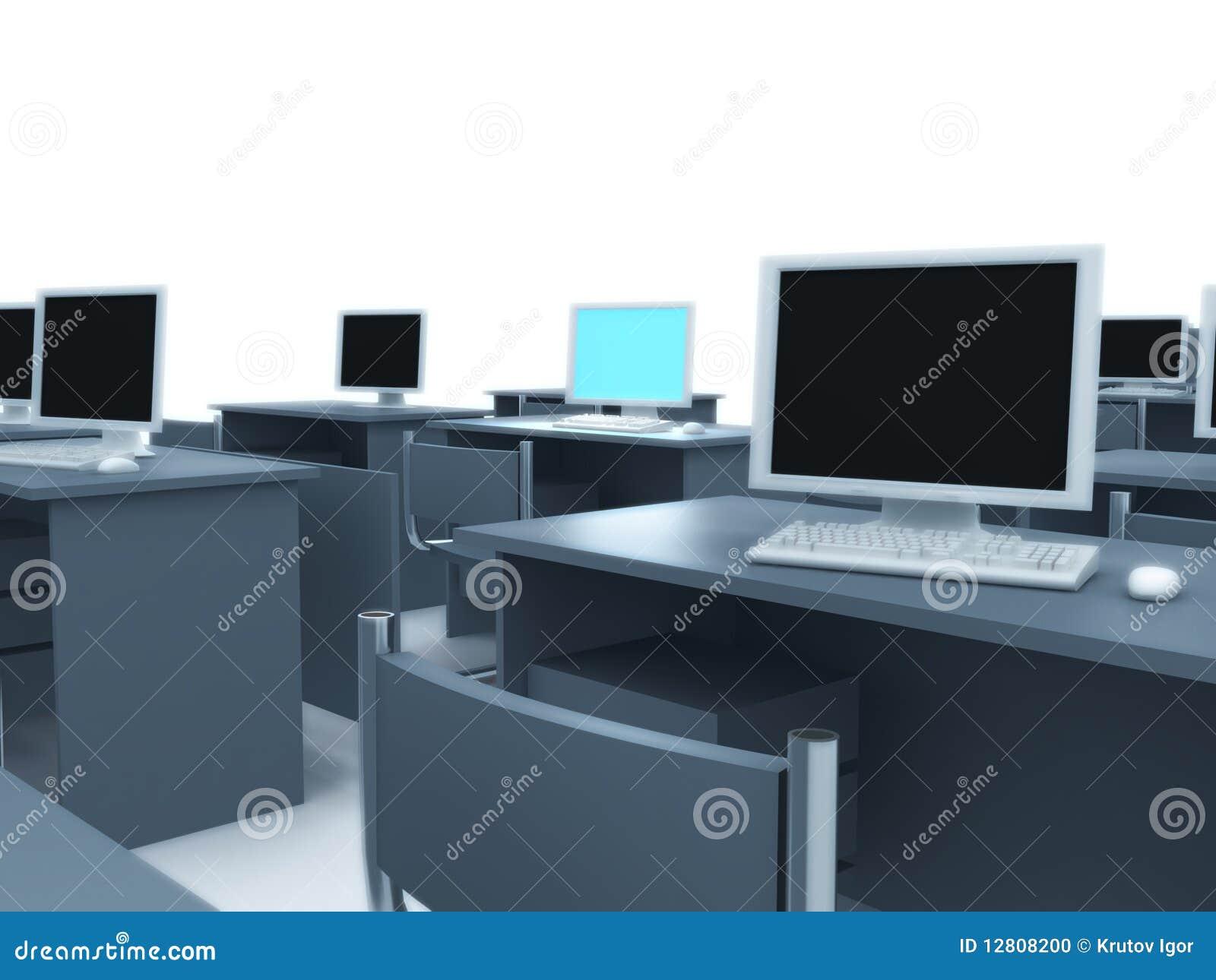 Quarto de computador.