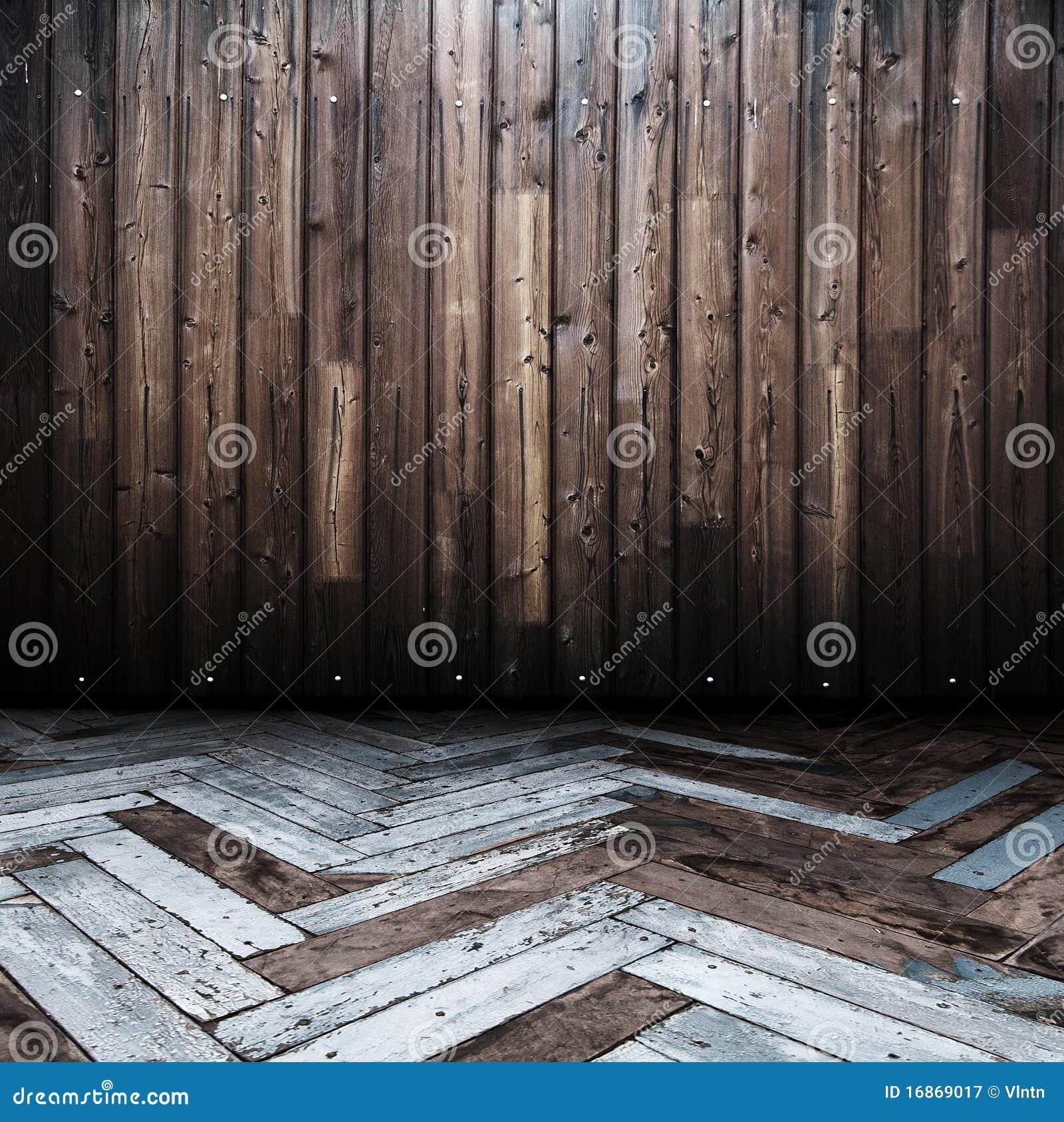 Quarto de madeira