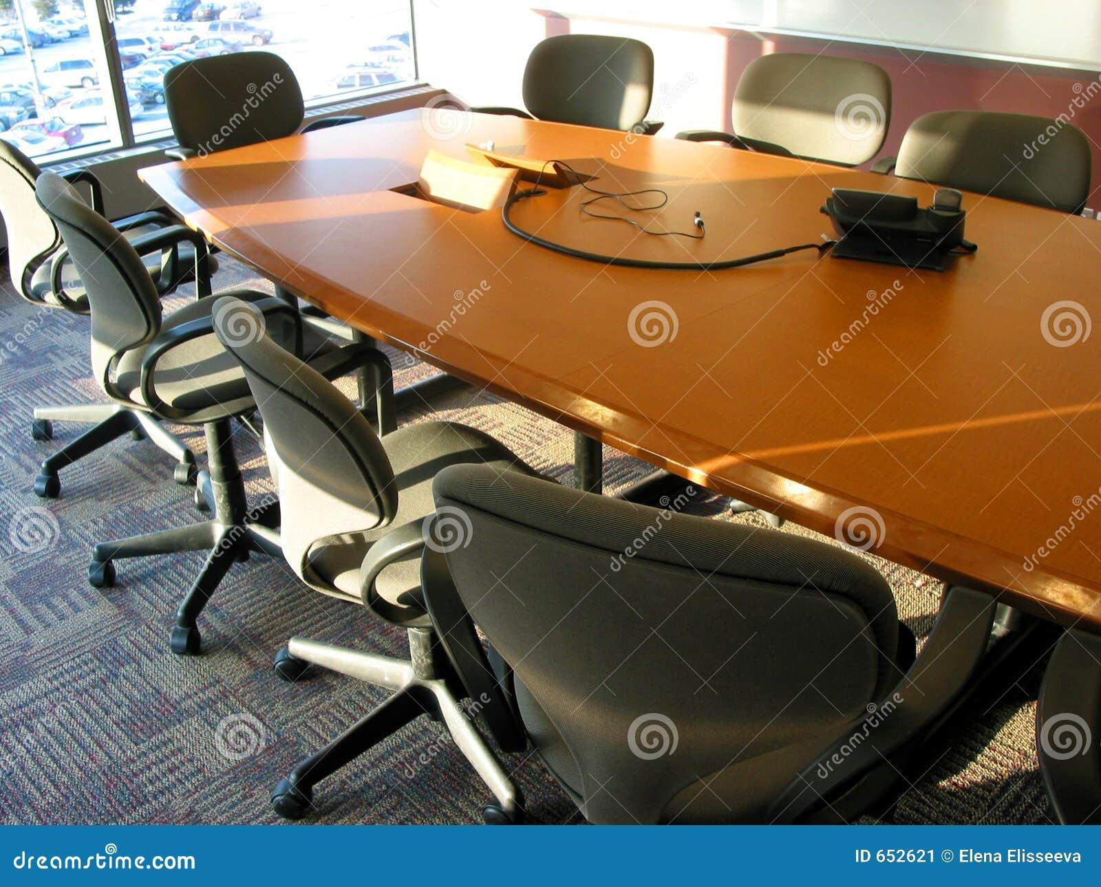 Quarto de reunião do negócio