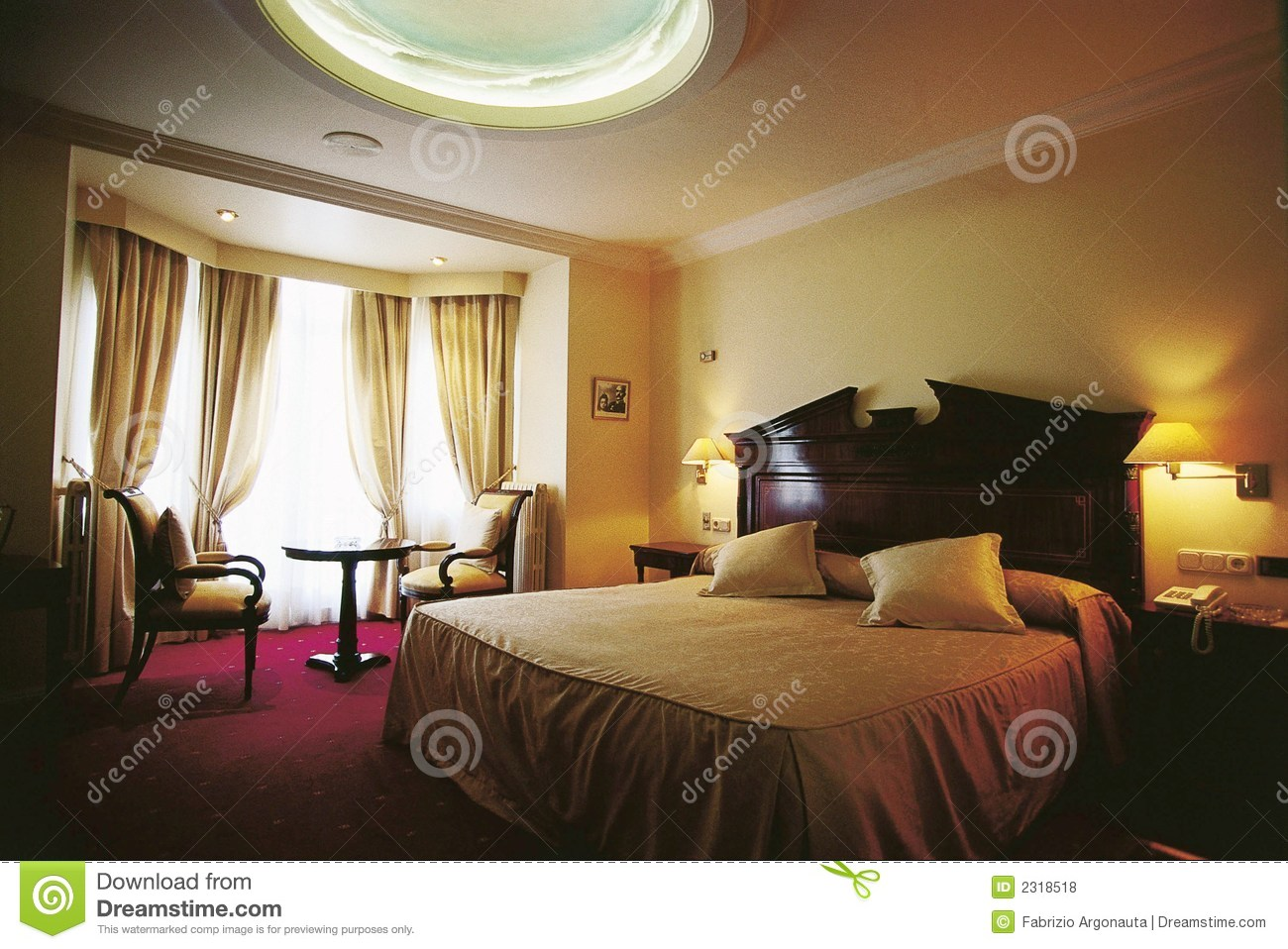 Quarto do luxo do hotel fotos de stock royalty free imagem 2318518 - Camera da letto hotel ...